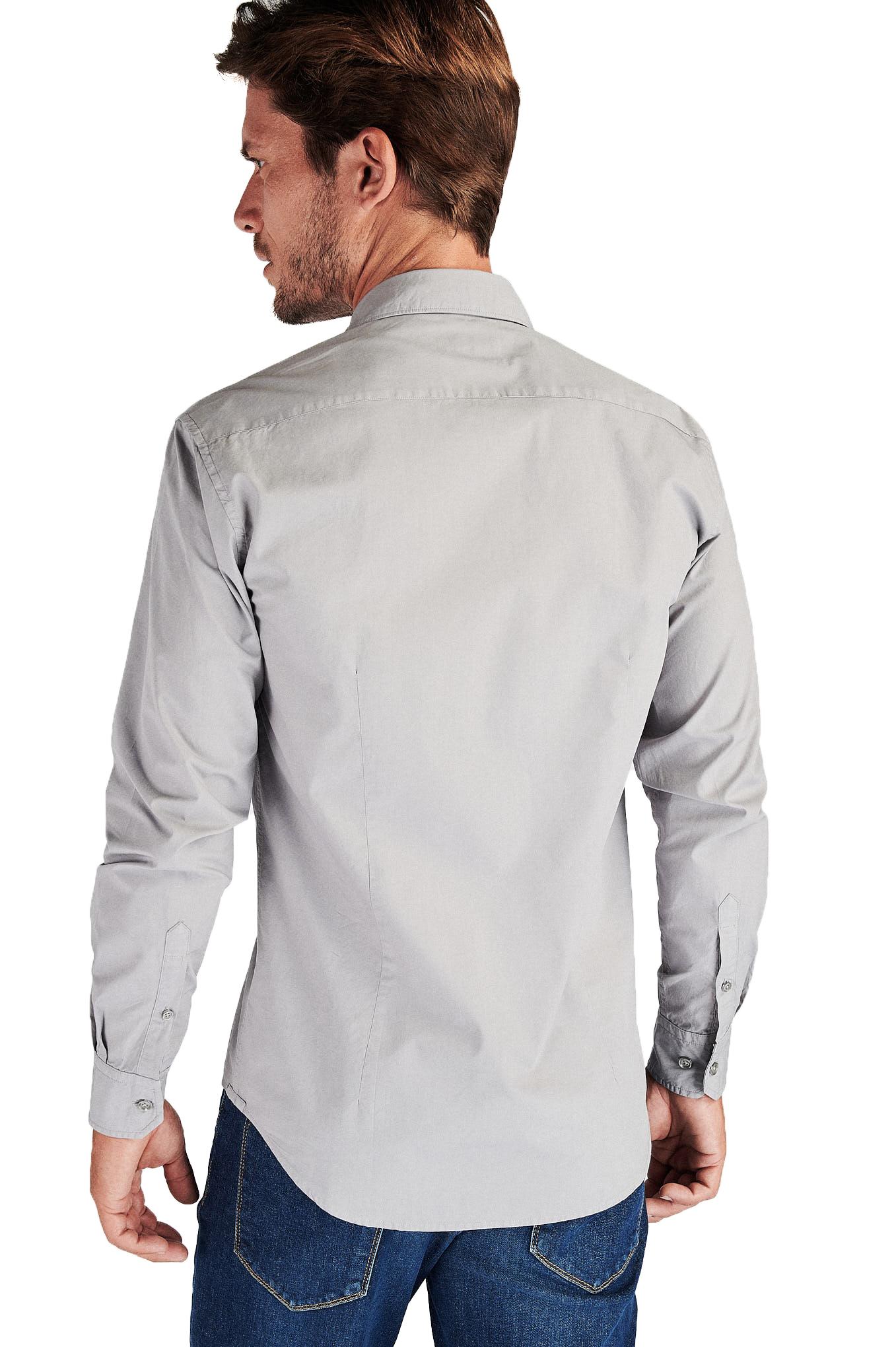 Shirt Light Grey Sport Man