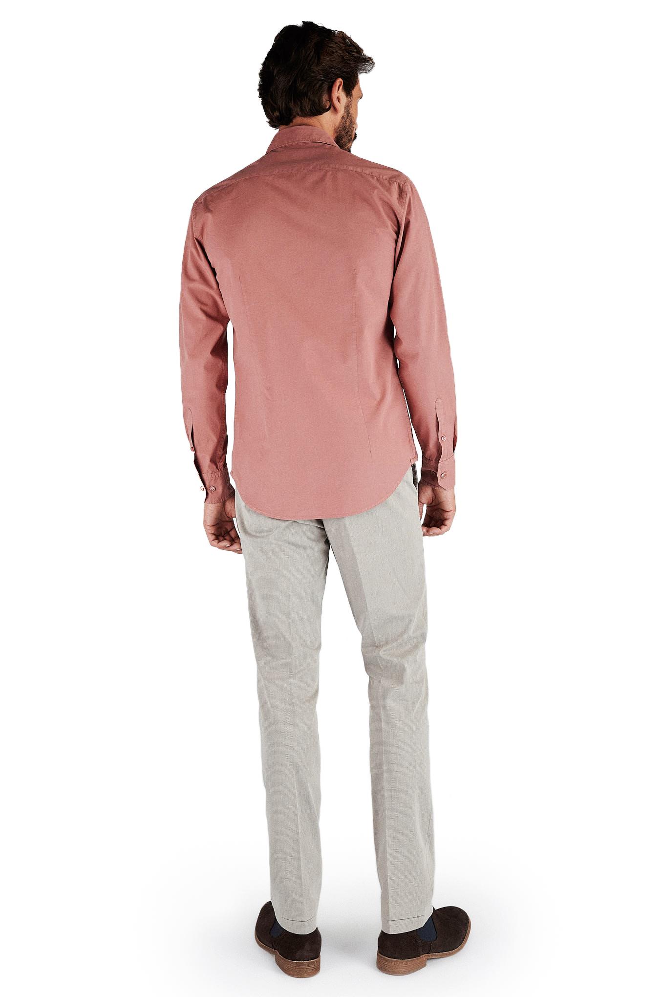 Camisa Rosa Sport Homem