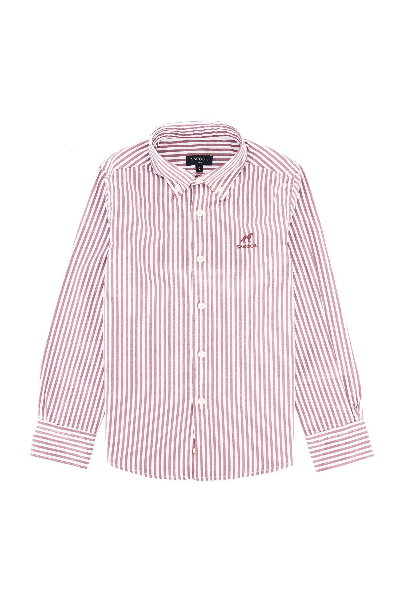 Shirt Brown Casual Boy