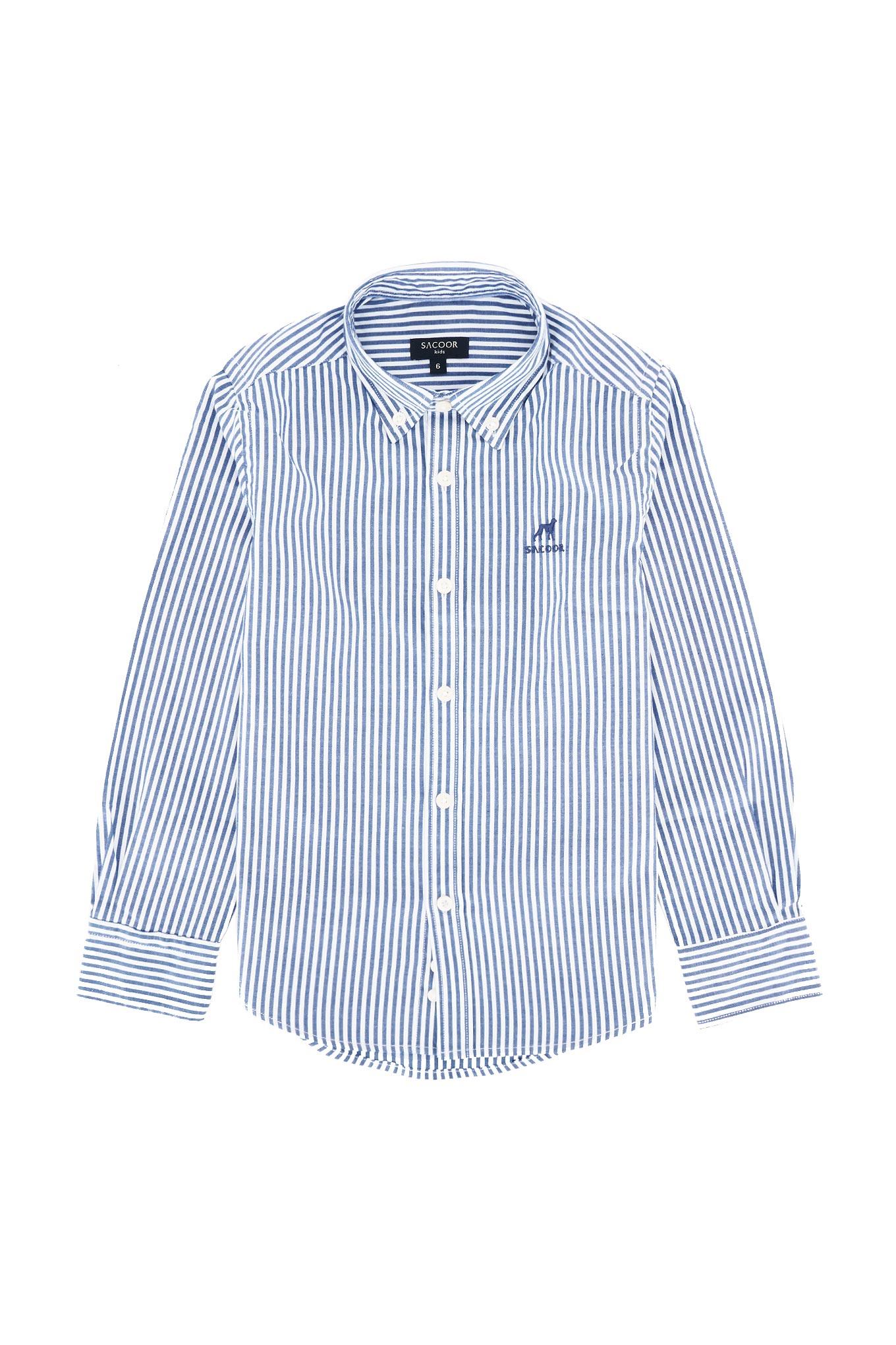 Shirt Dark Blue Casual Boy