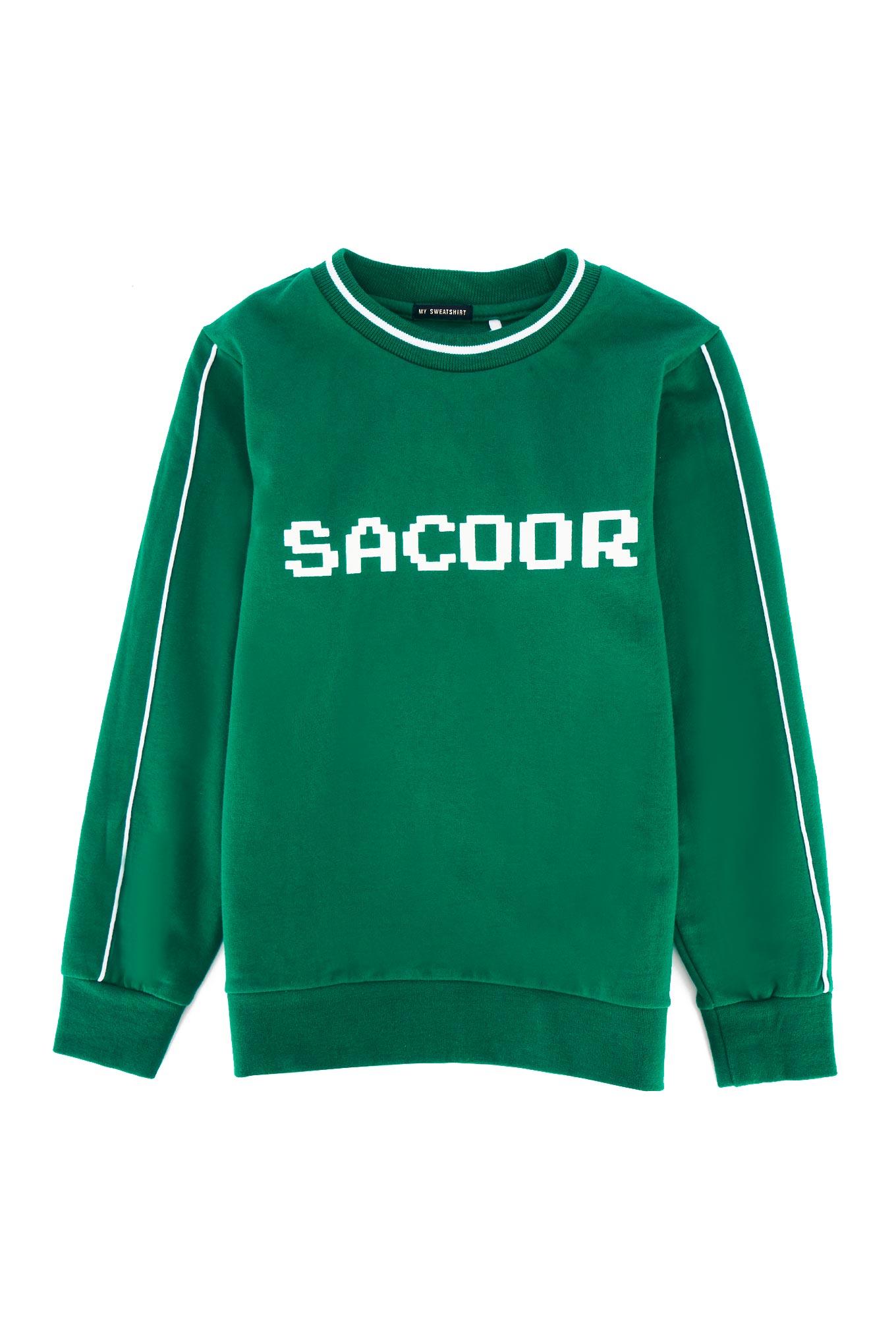 Sweatshirt Green Sport Boy