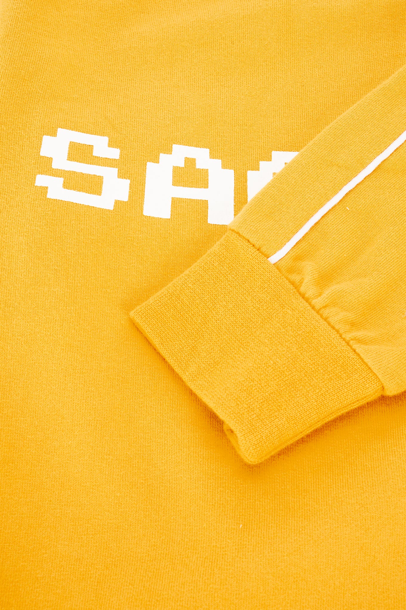 Sweatshirt Yellow Sport Boy