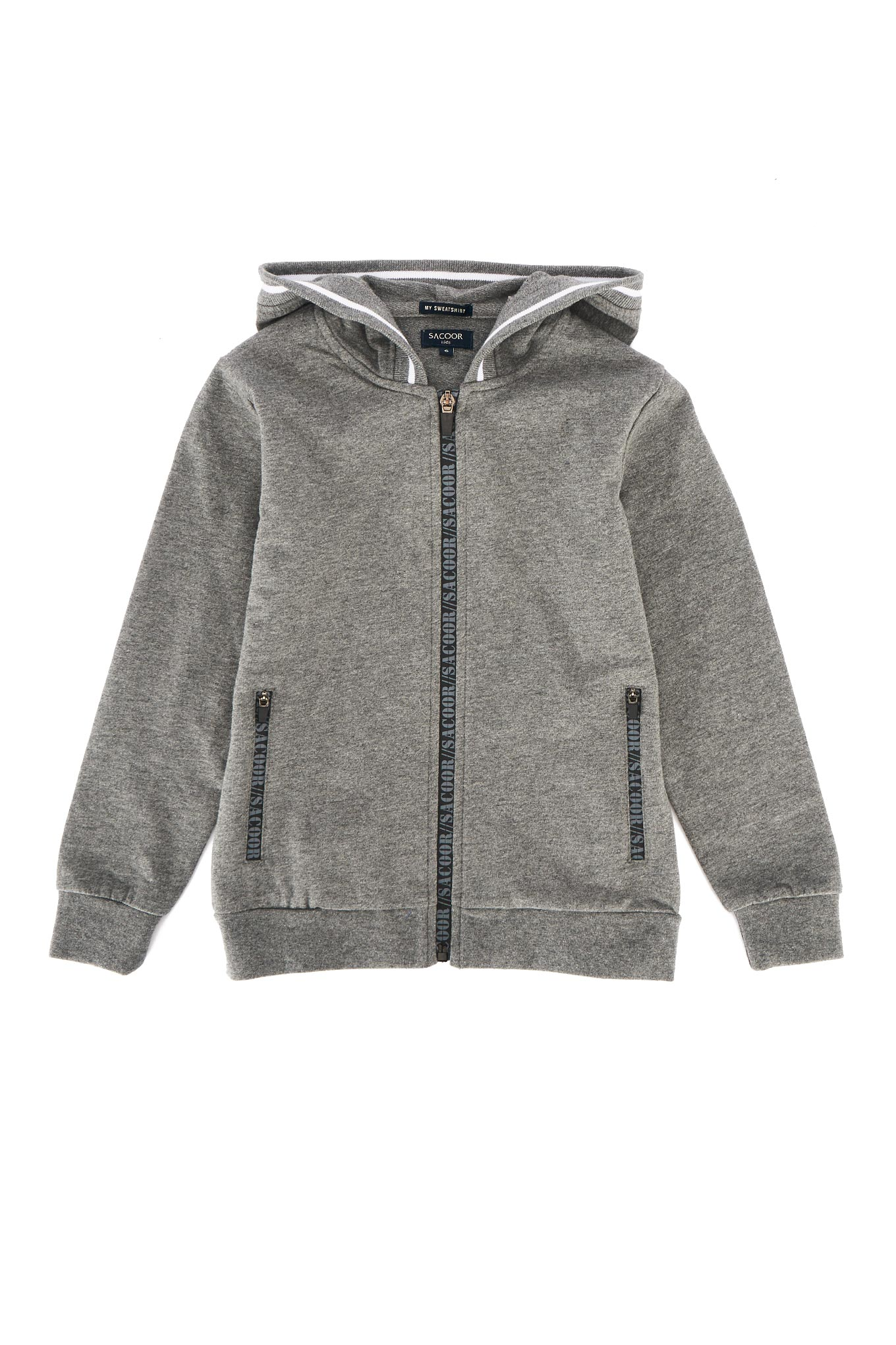 Sweatshirt Dark Grey Sport Boy