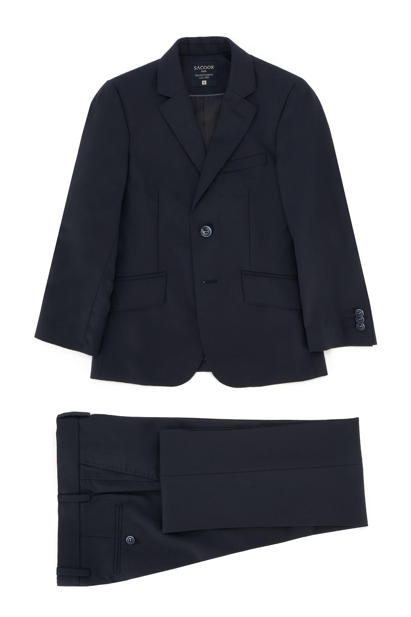 Suit Dark Blue Classic Boy