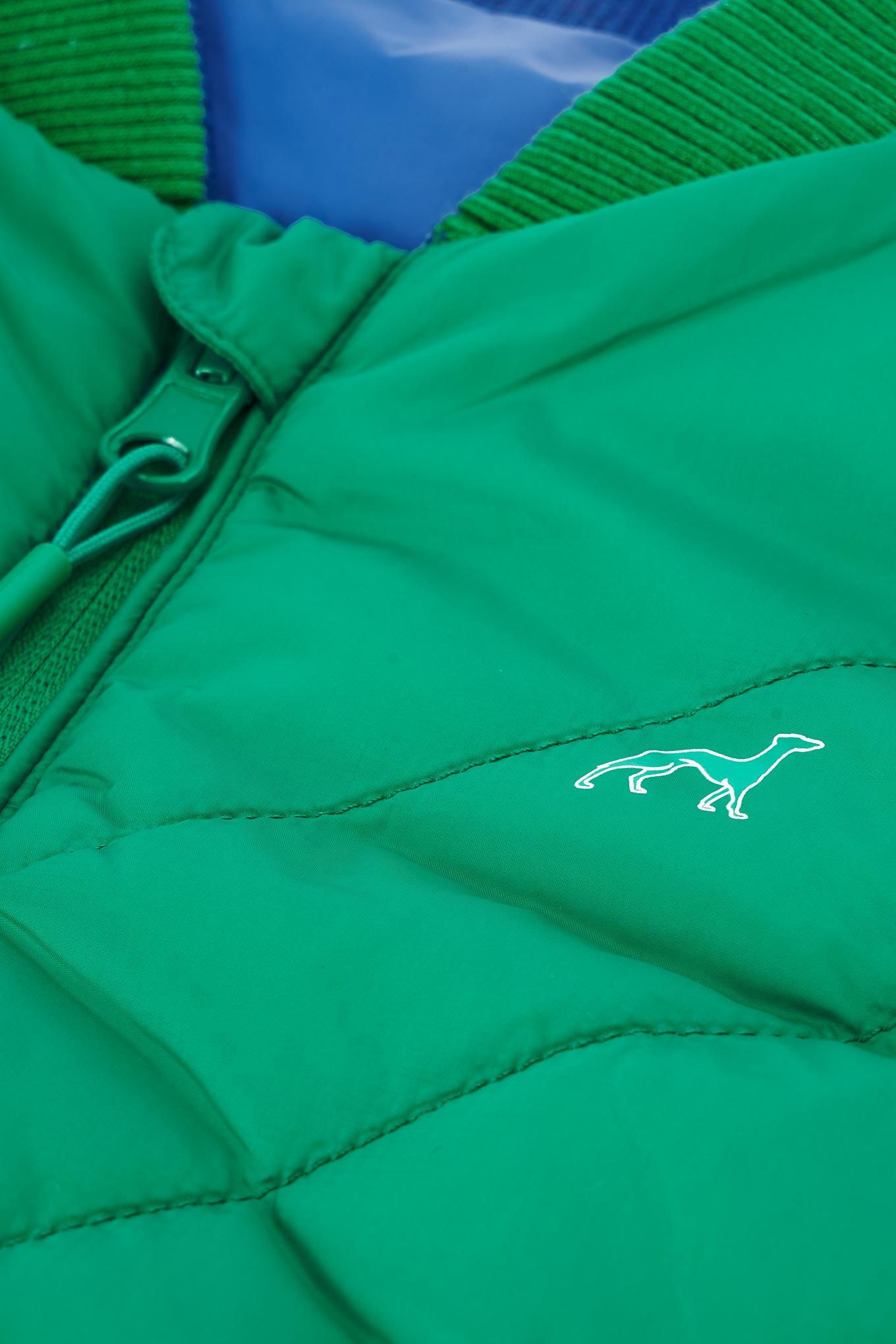 Waist Coat Green Casual Boy