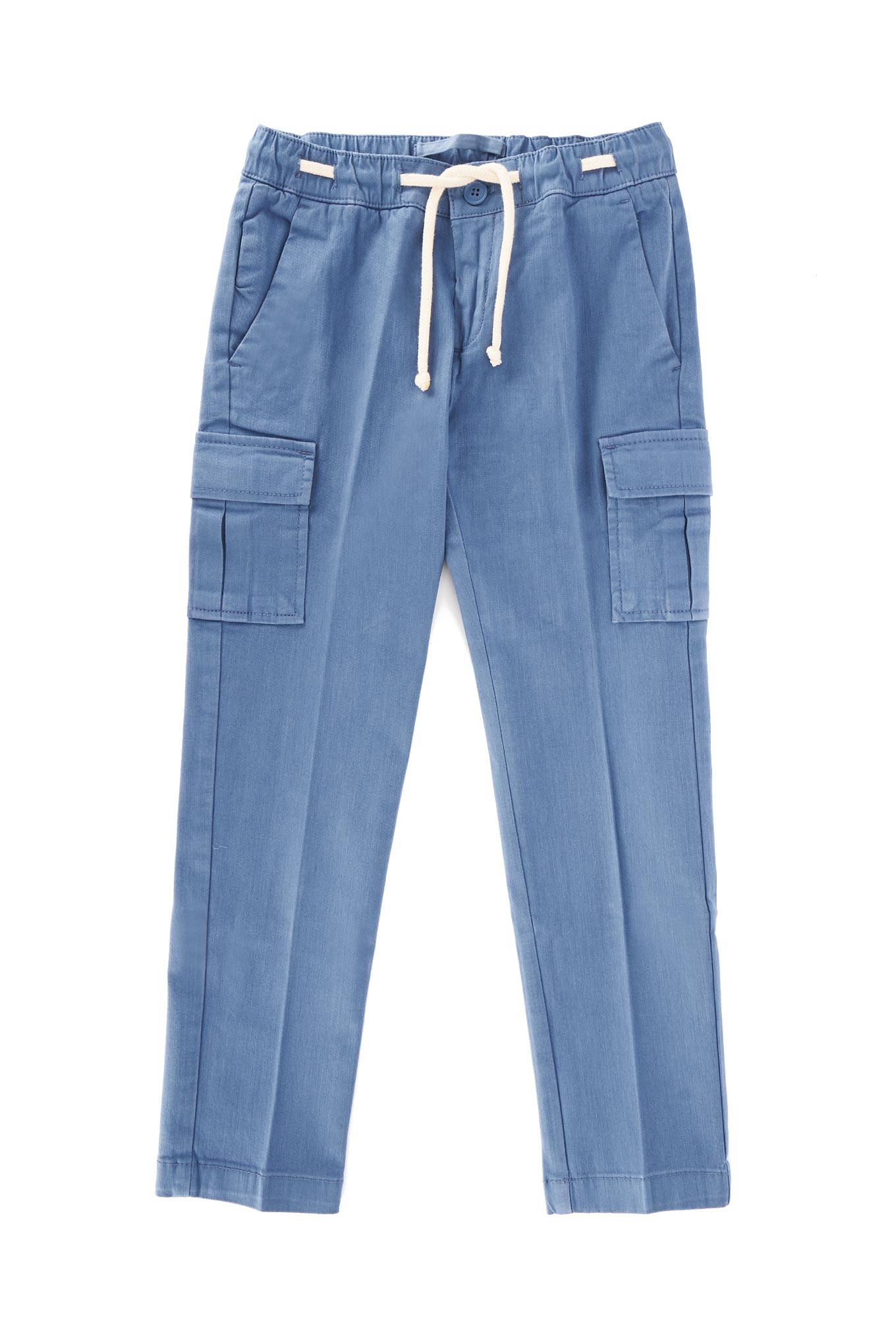 Cargo Trousers Blue Sport Boy