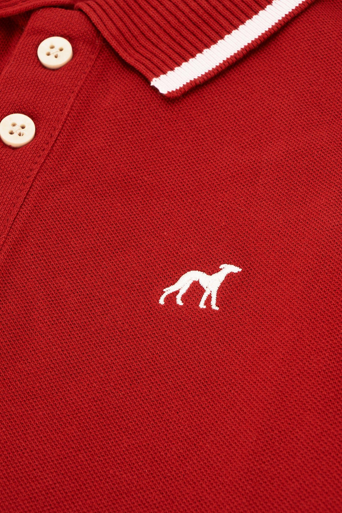 Polo Piquet Red Sport Boy