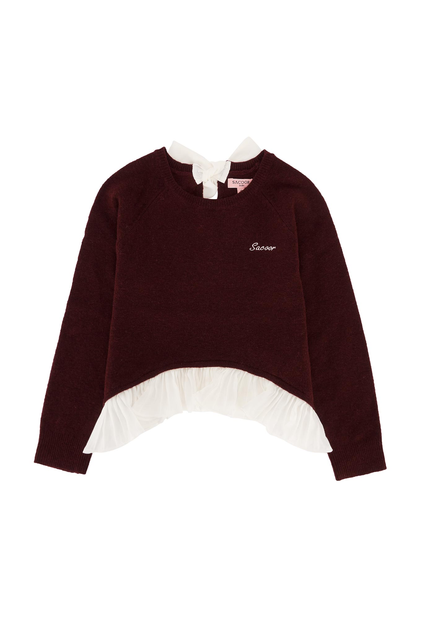 Sweater Bordeaux Casual Girl