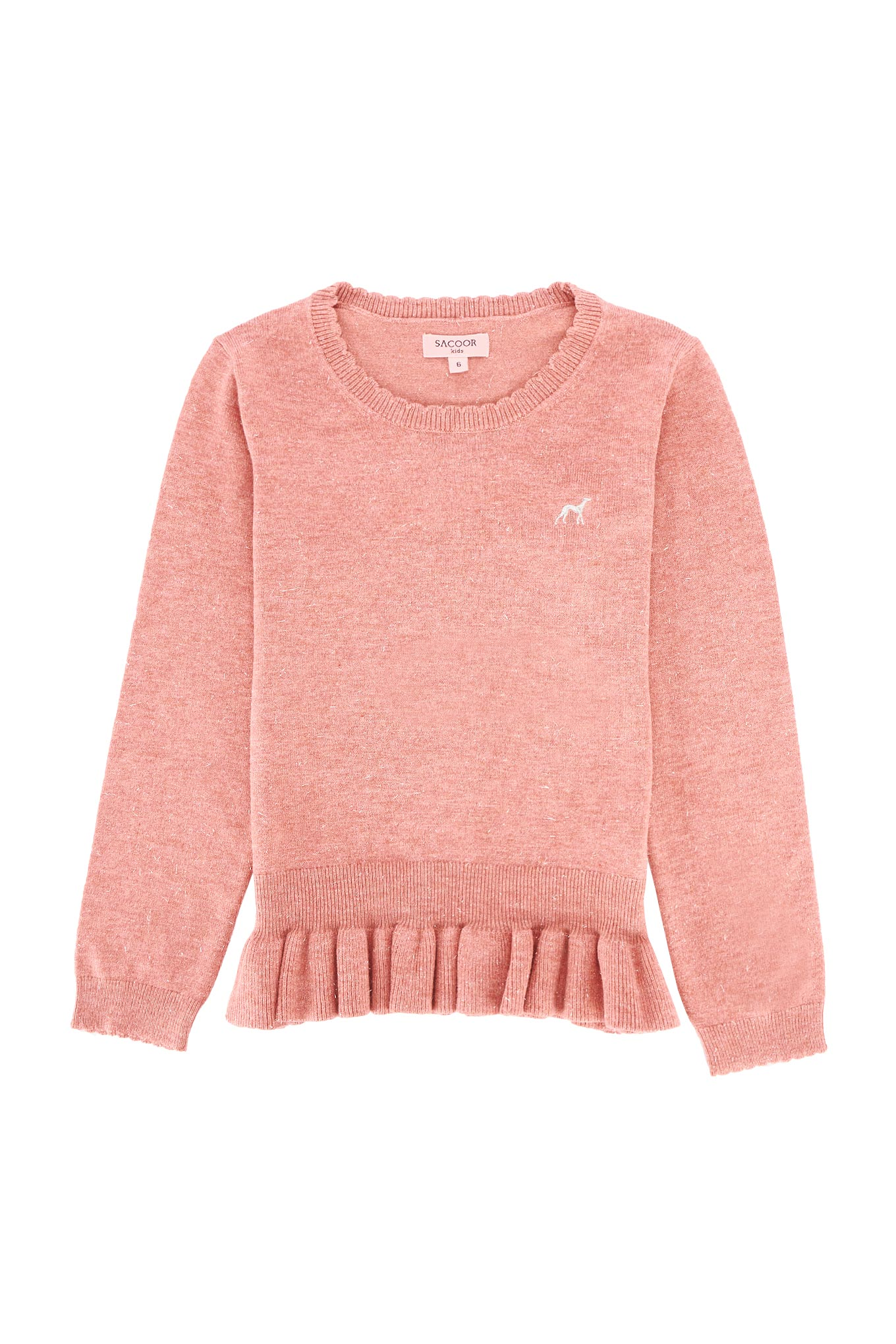 Sweater Dark Pink Casual Girl