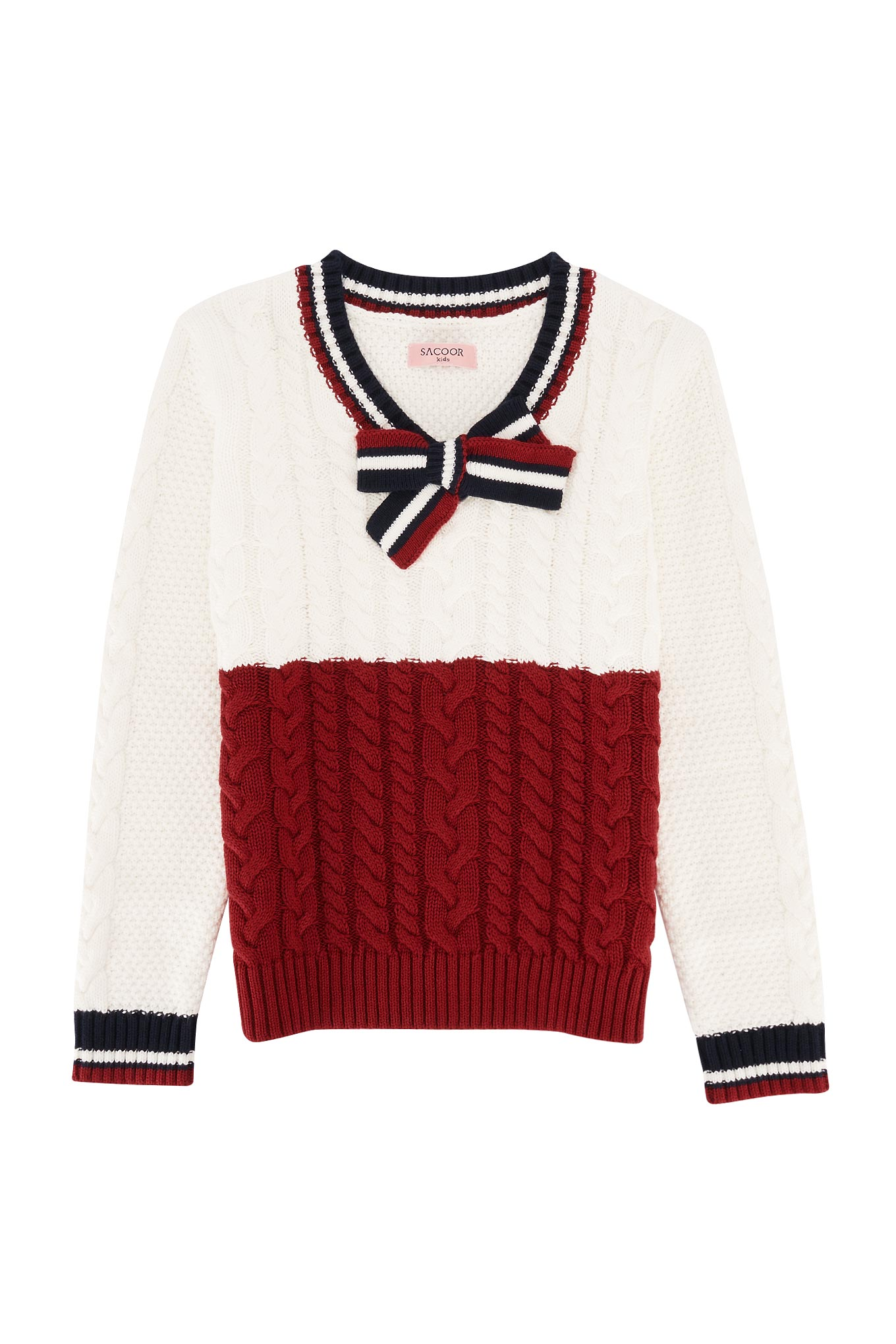 Sweater White Sport Girl