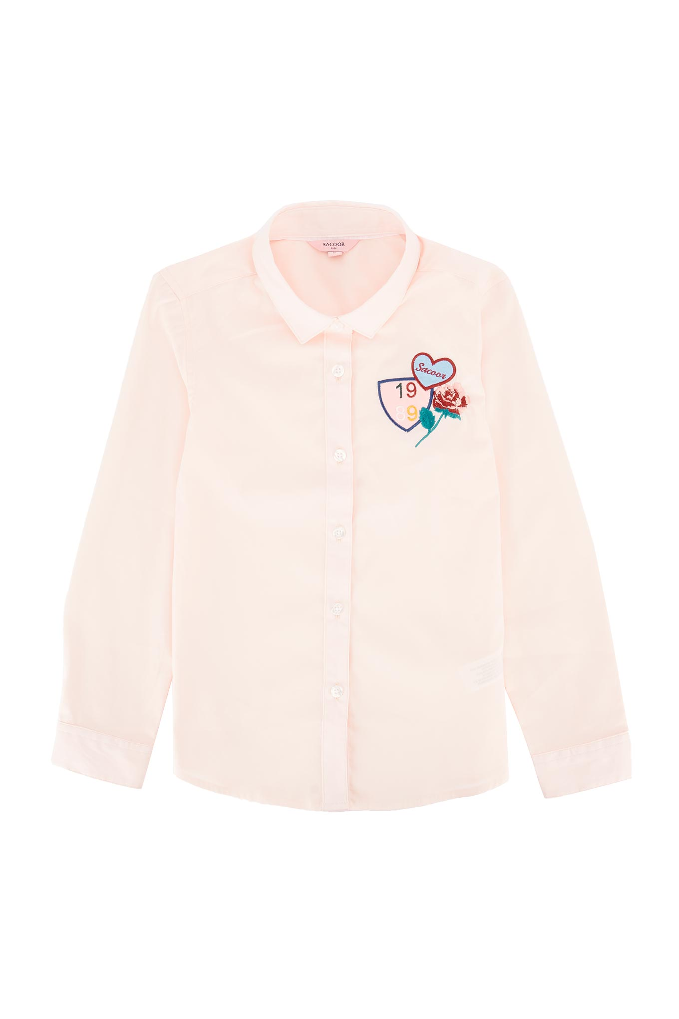 Shirt Pink Casual Girl