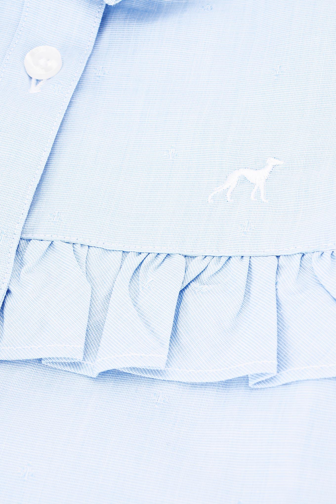 Shirt Light Blue Casual Girl