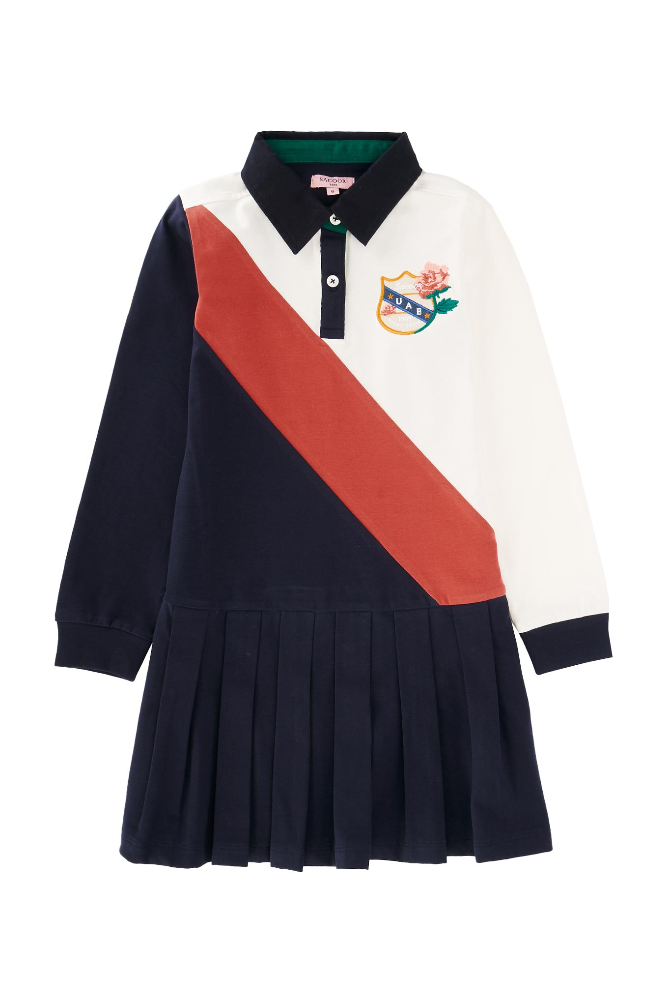 Rugby Dress Dark Blue Sport Girl