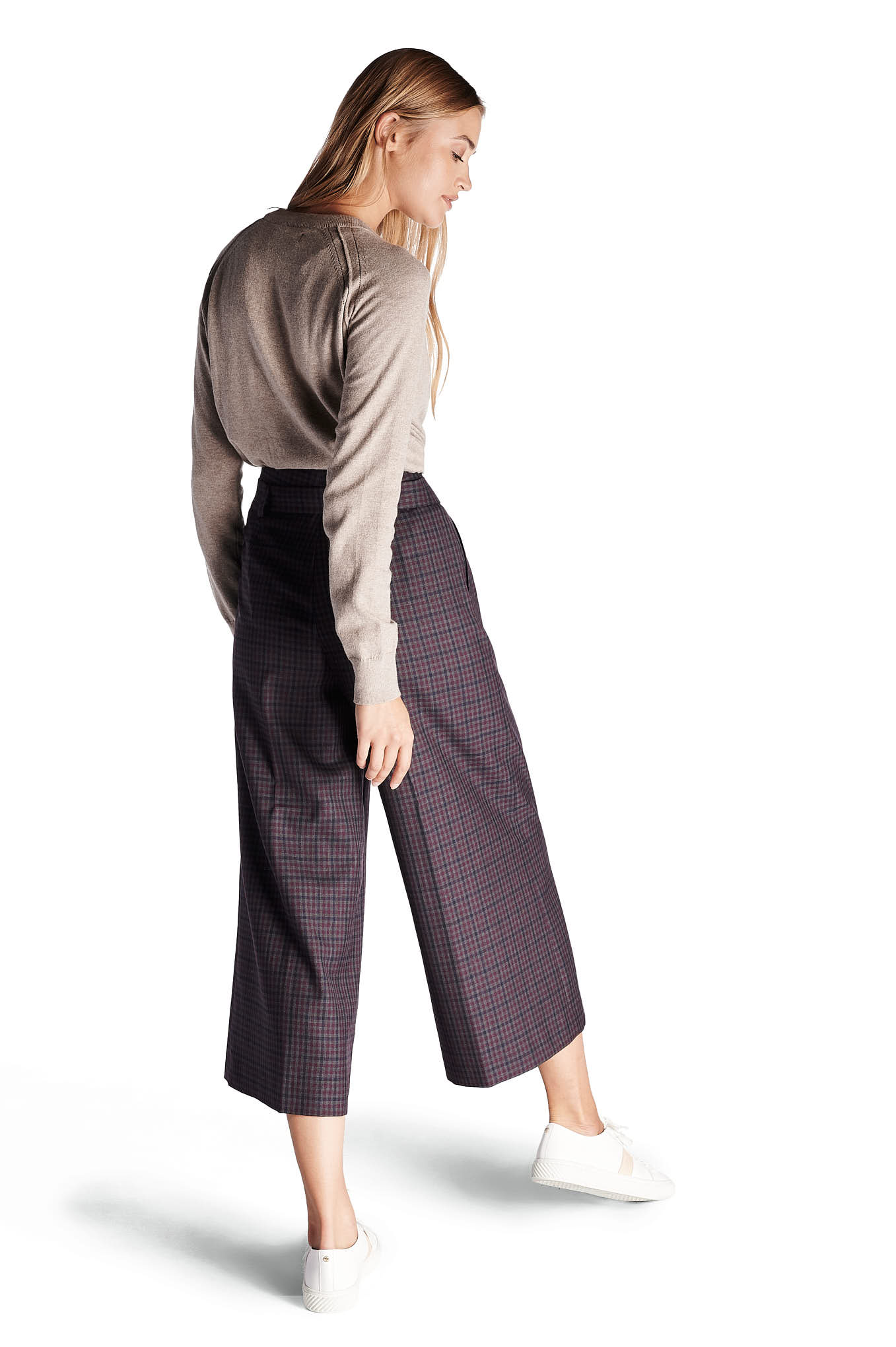 Trousers Bordeaux Classic Woman