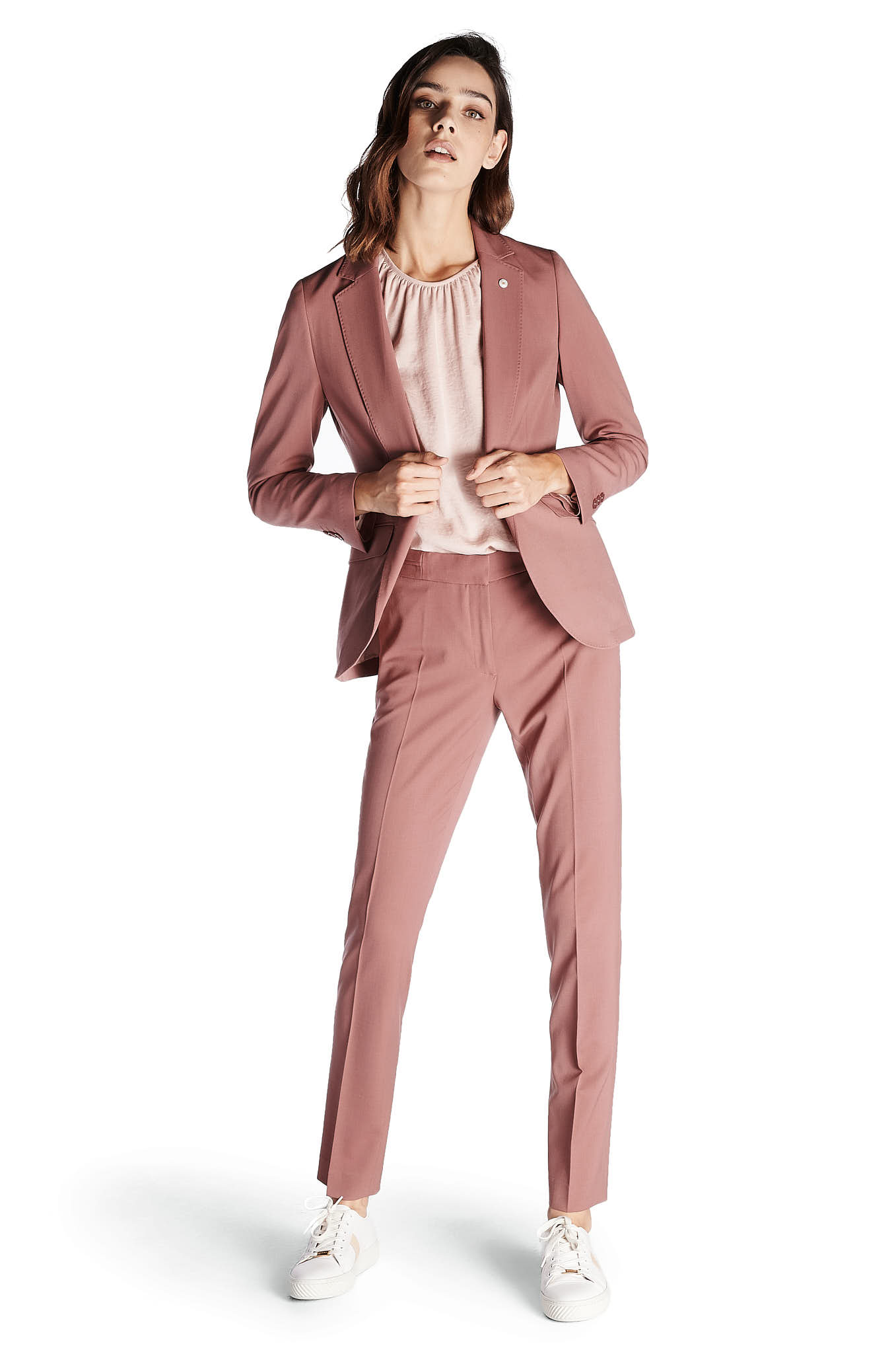 Suit Pink Classic Woman