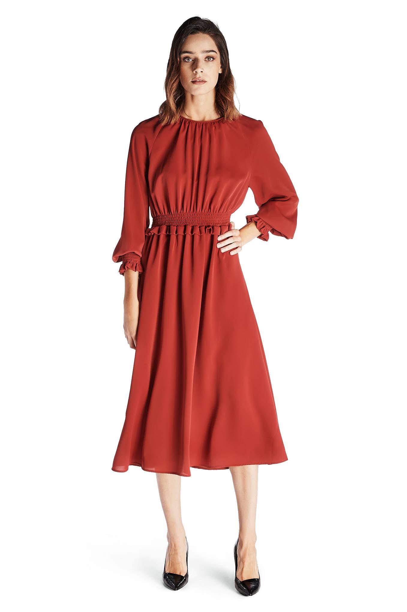 Vestido Vermelho Fantasy Mulher