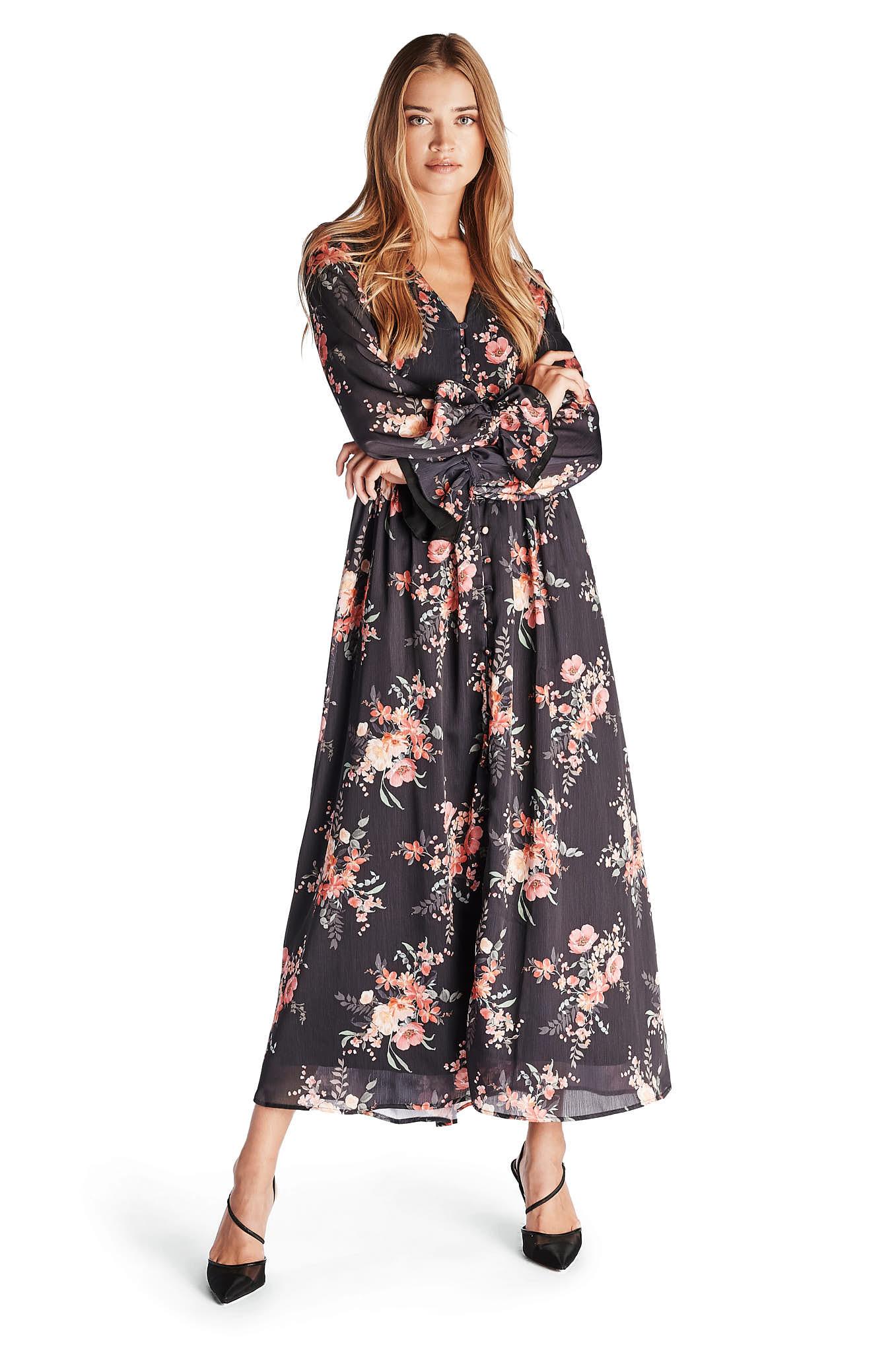 Vestido Estampado Fantasy Mulher
