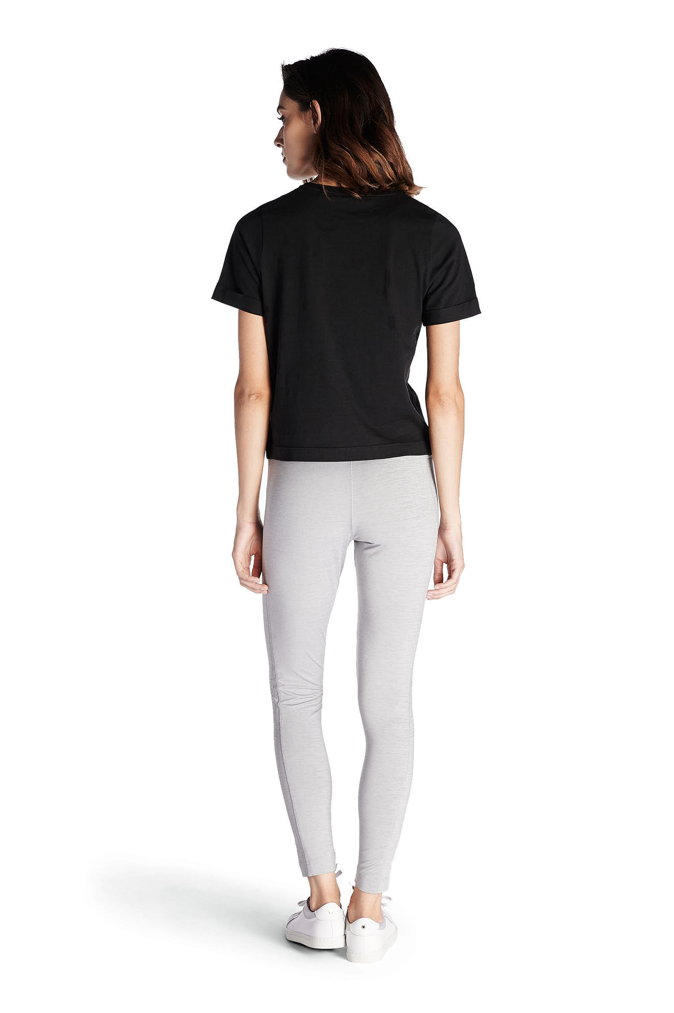 T-Shirt Preto Sport Mulher