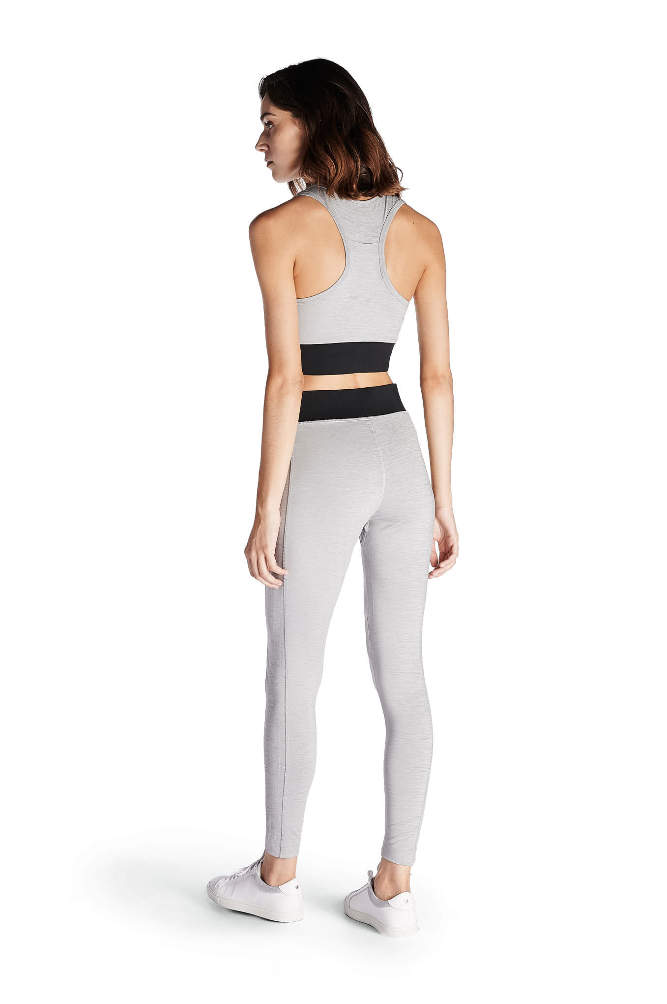 Top Dark Grey Sport Woman