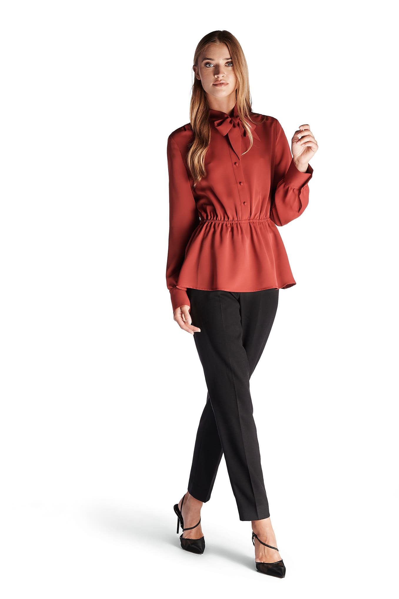 Blouse Red Fantasy Woman