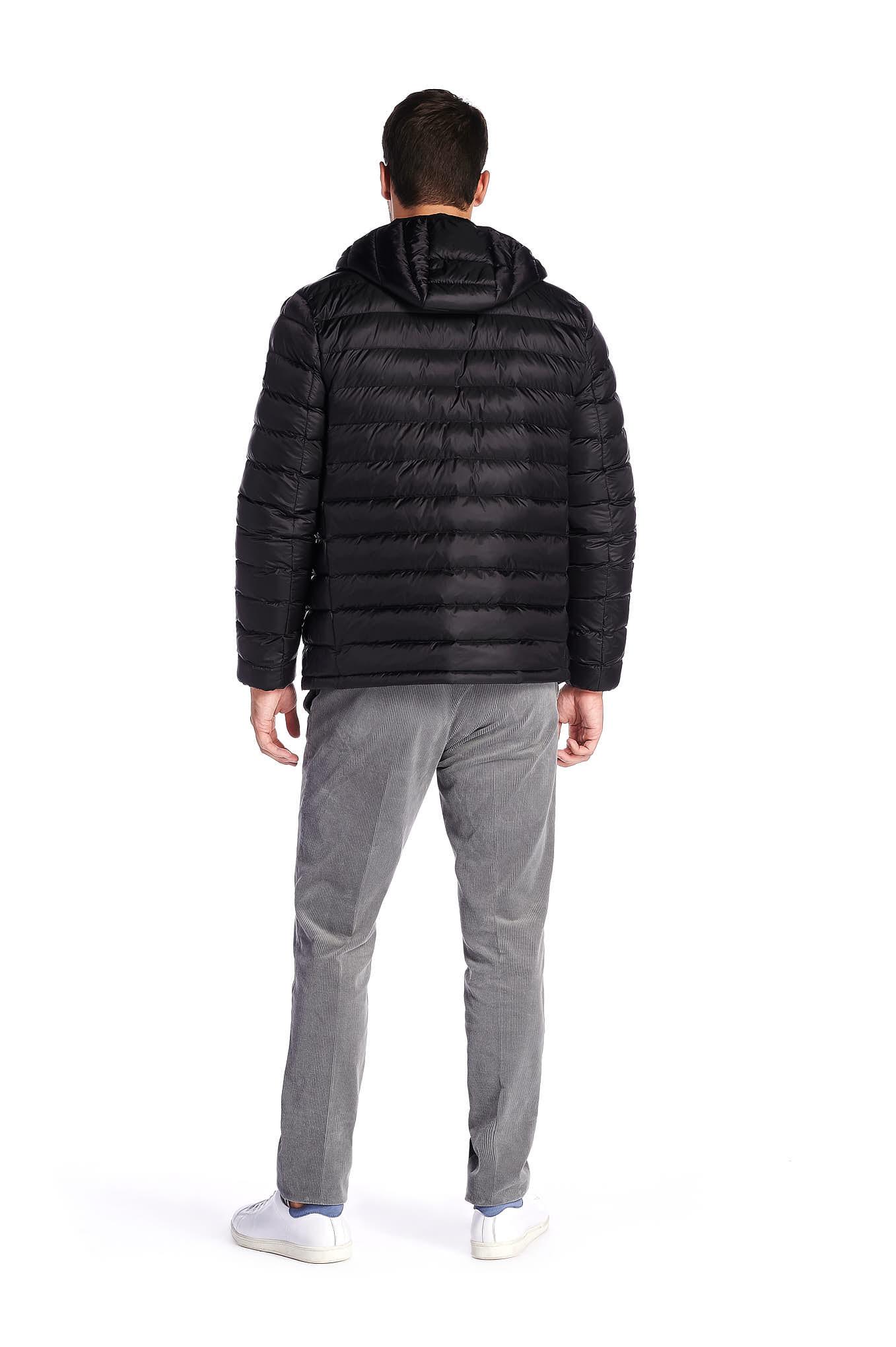 Jacket Black Casual Man