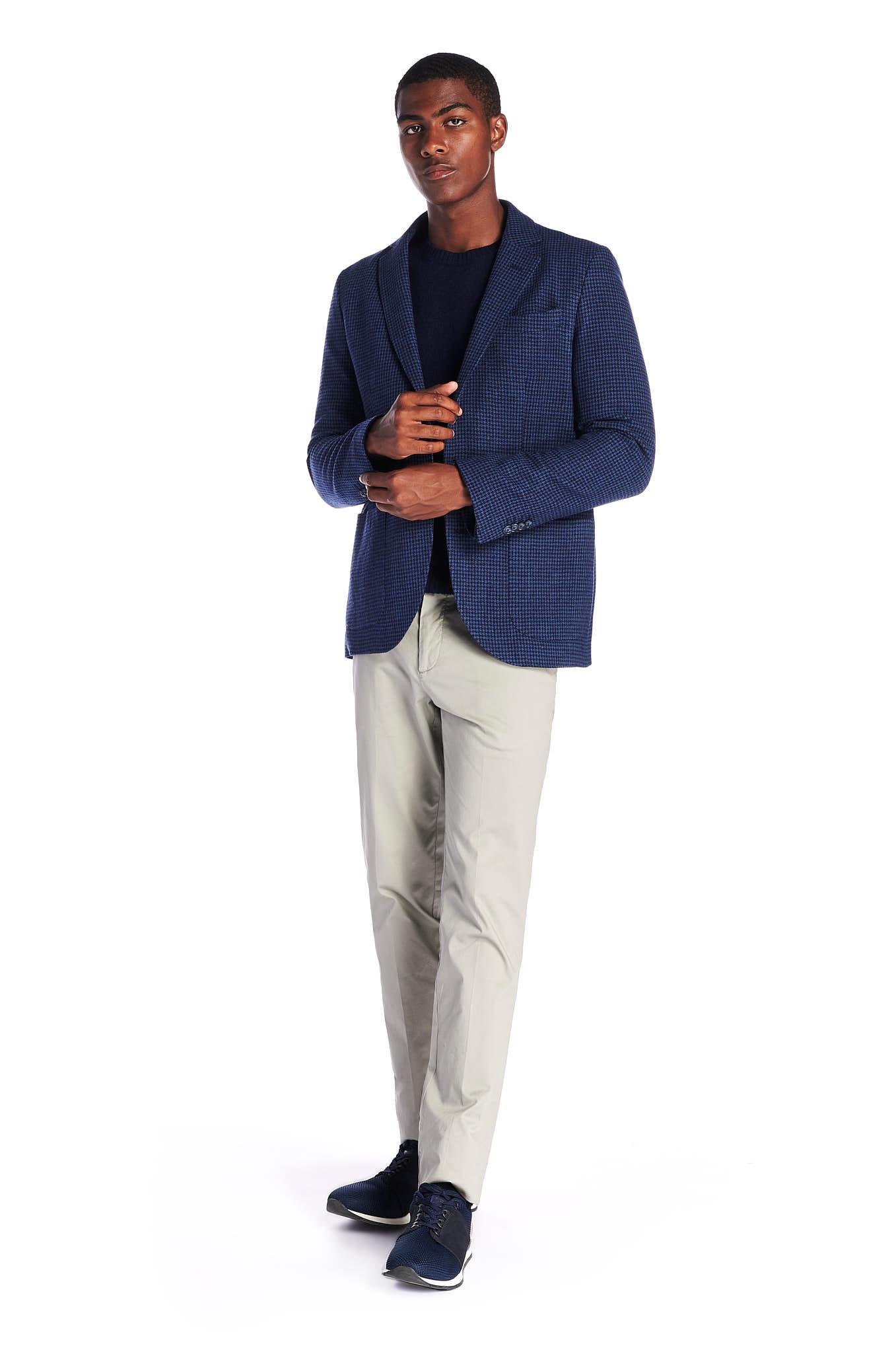 Blazer Blue Classic Man