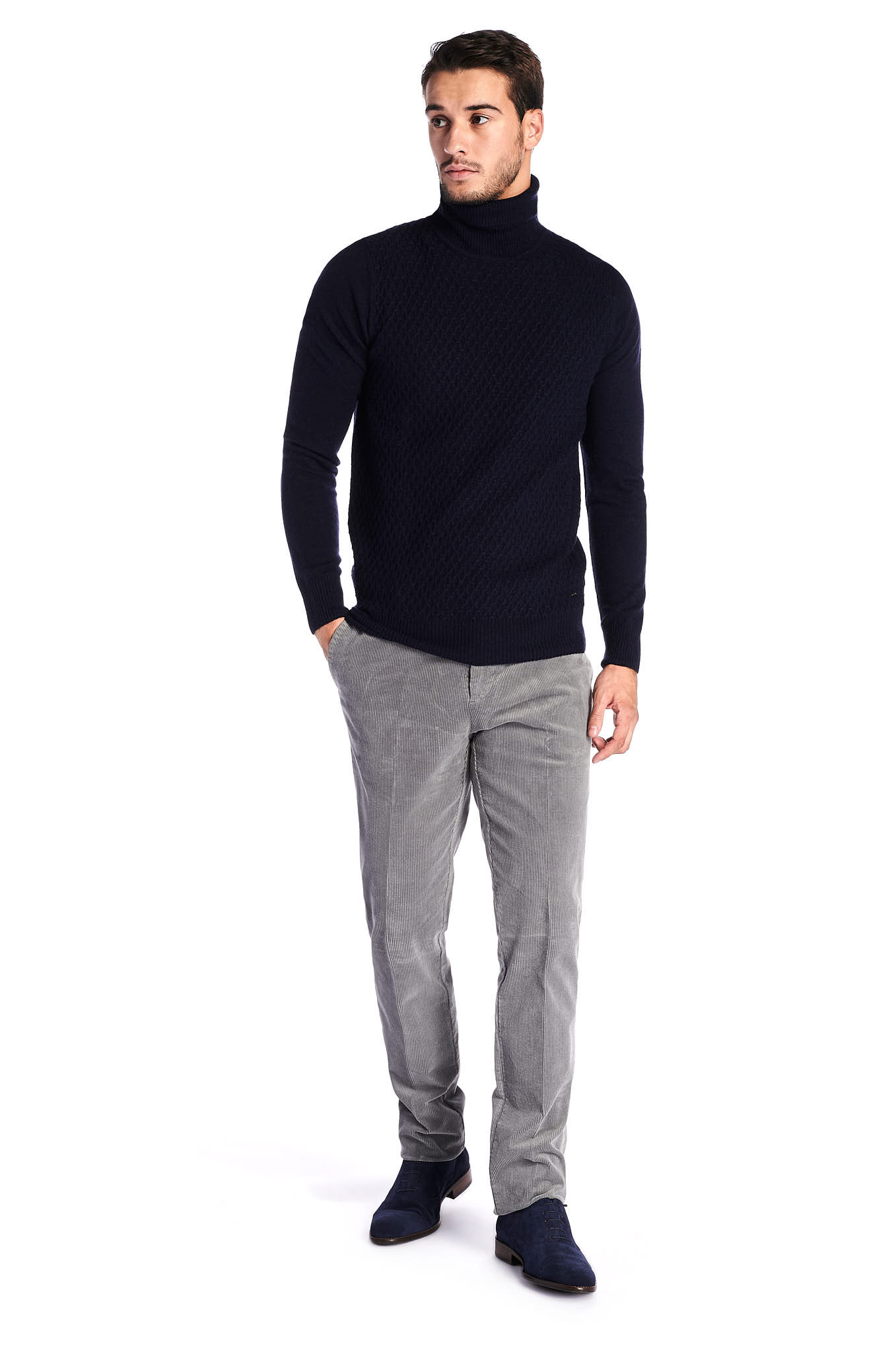 Chino Trousers Grey Sport Man