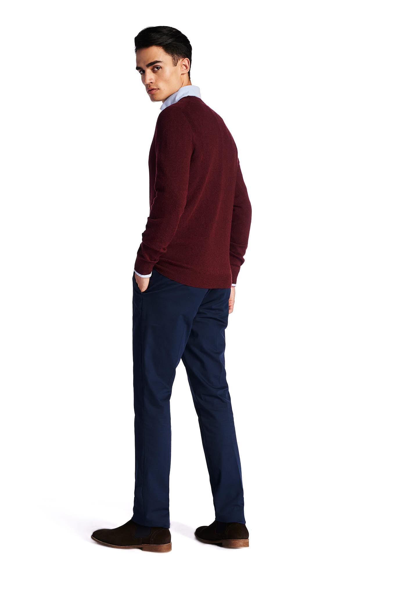 Sweater Bordeaux Casual Man