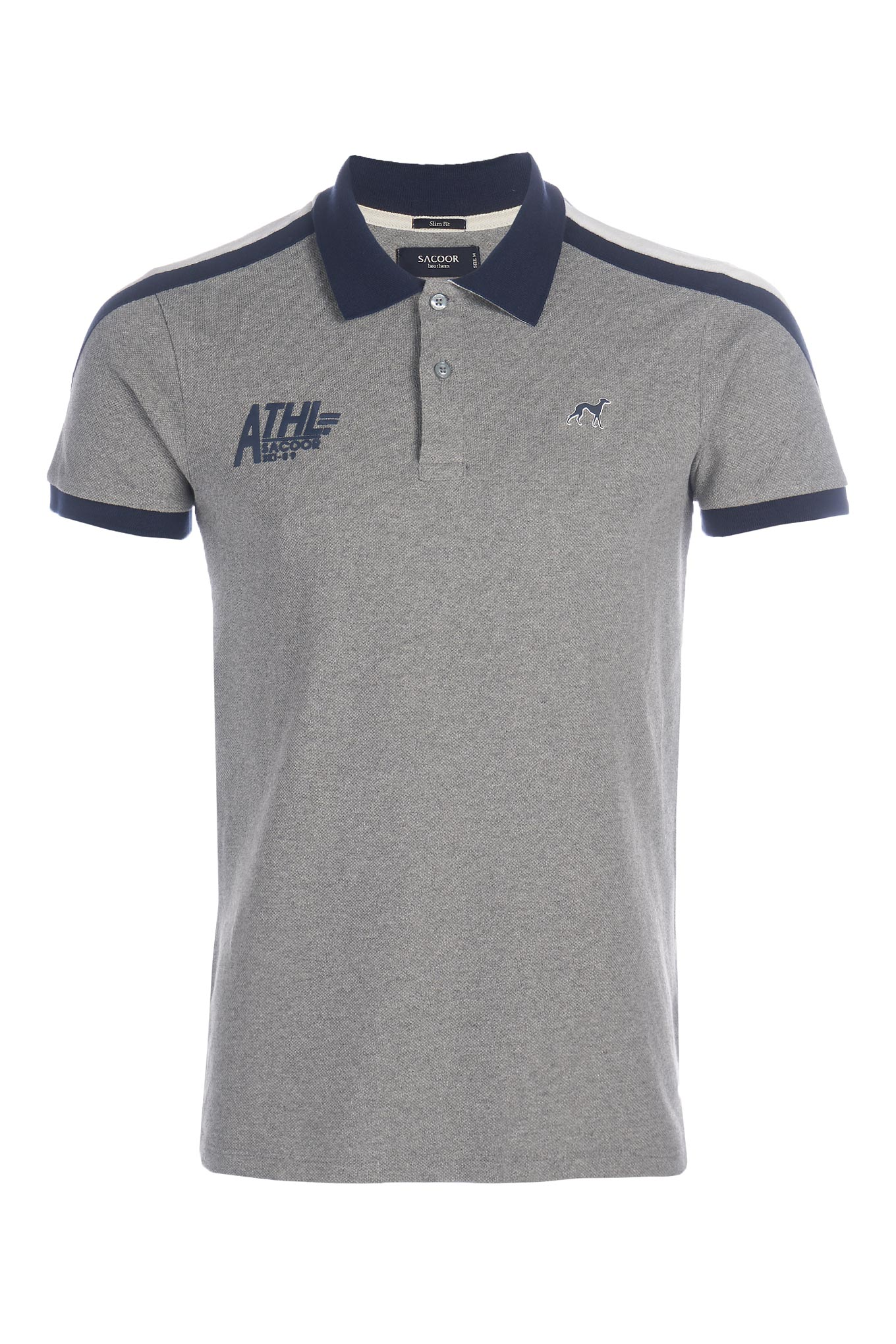 Polo Piquet Dark Grey Sport Man