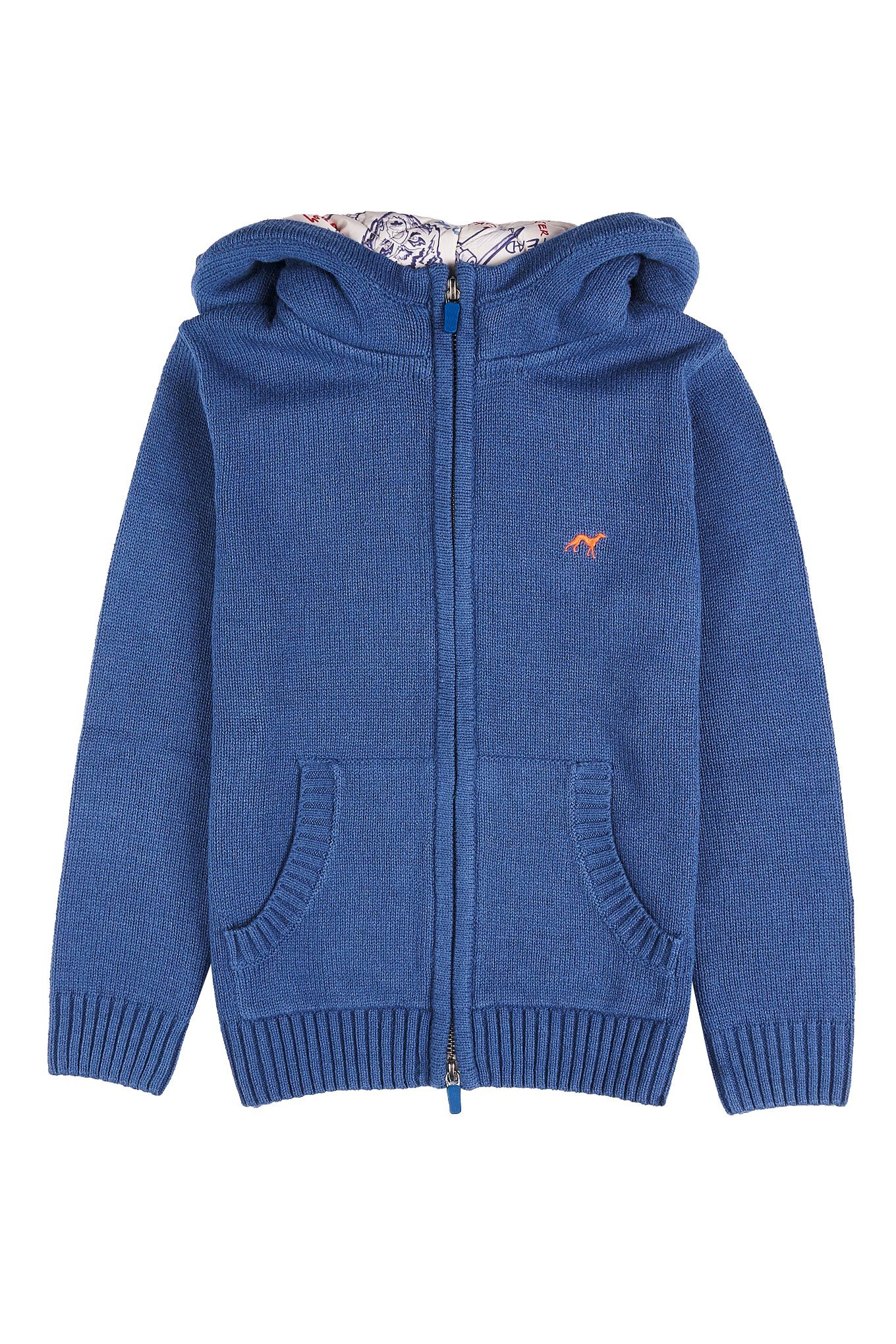 Cardigan Blue Casual Boy