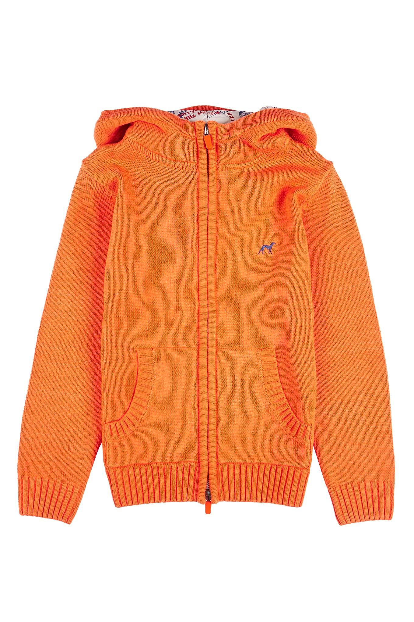 Cardigan Orange Casual Boy