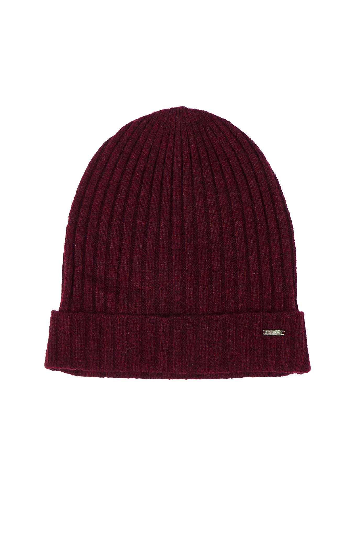 Knitted Cap Bordeaux Casual Man
