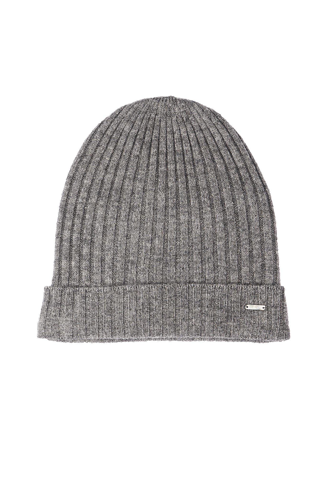 Knitted Cap Mix Grey Casual Man