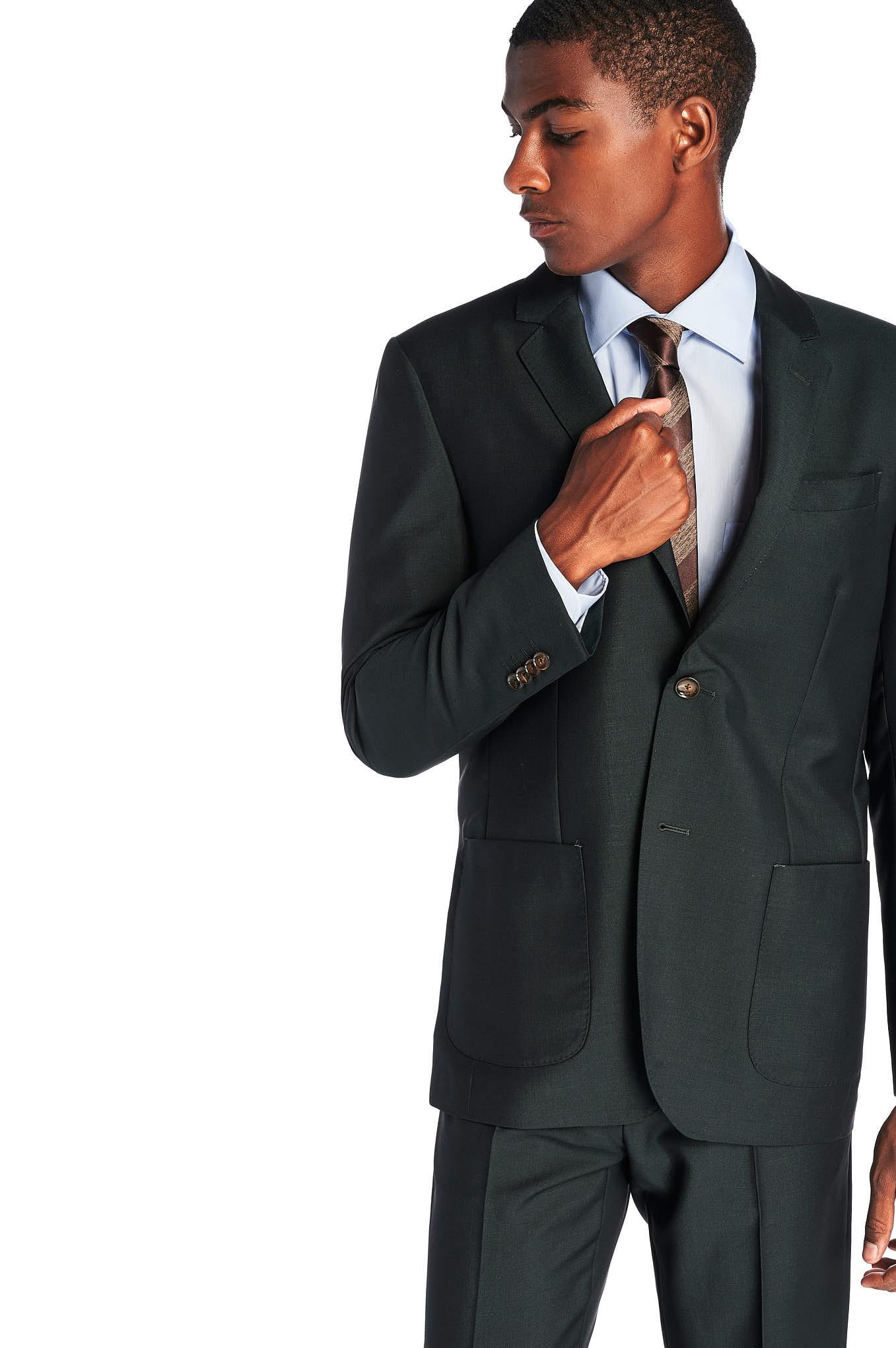 Suit Dark Green Classic Man