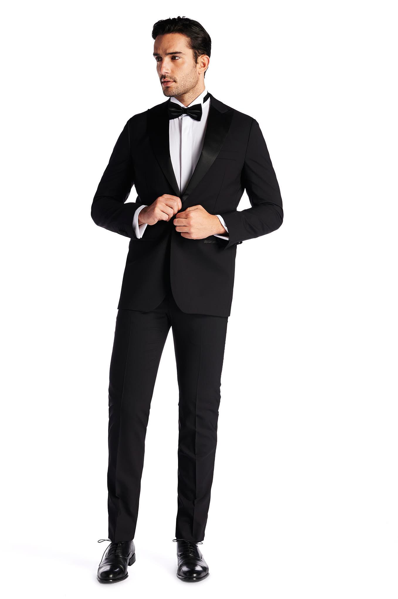 Tuxedo Black Classic Man