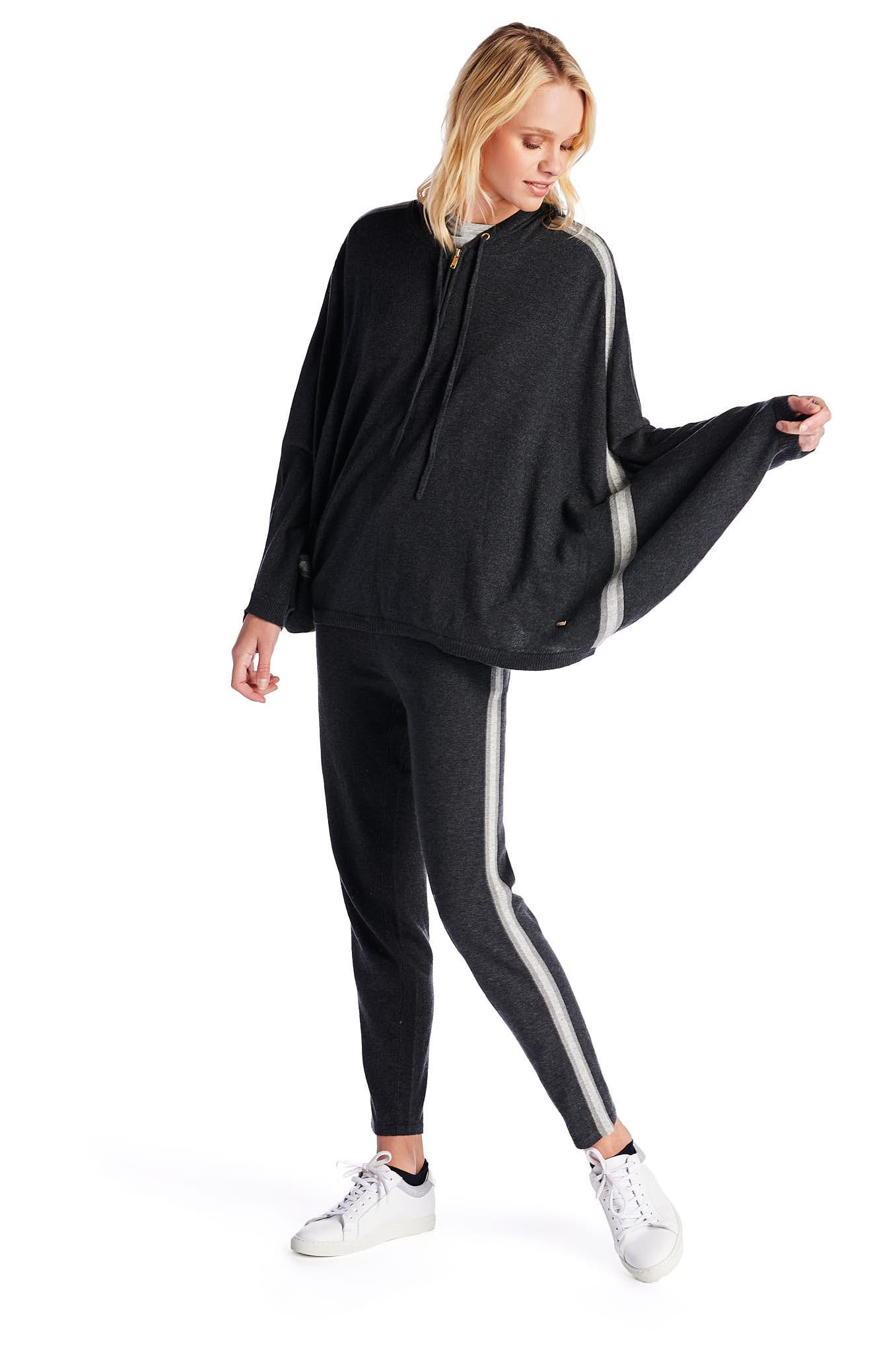 Sweater Dark Grey Casual Woman