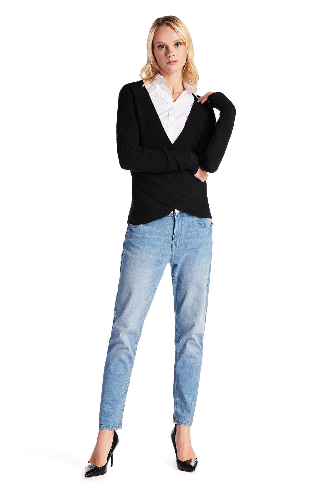 Sweater Black Casual Woman