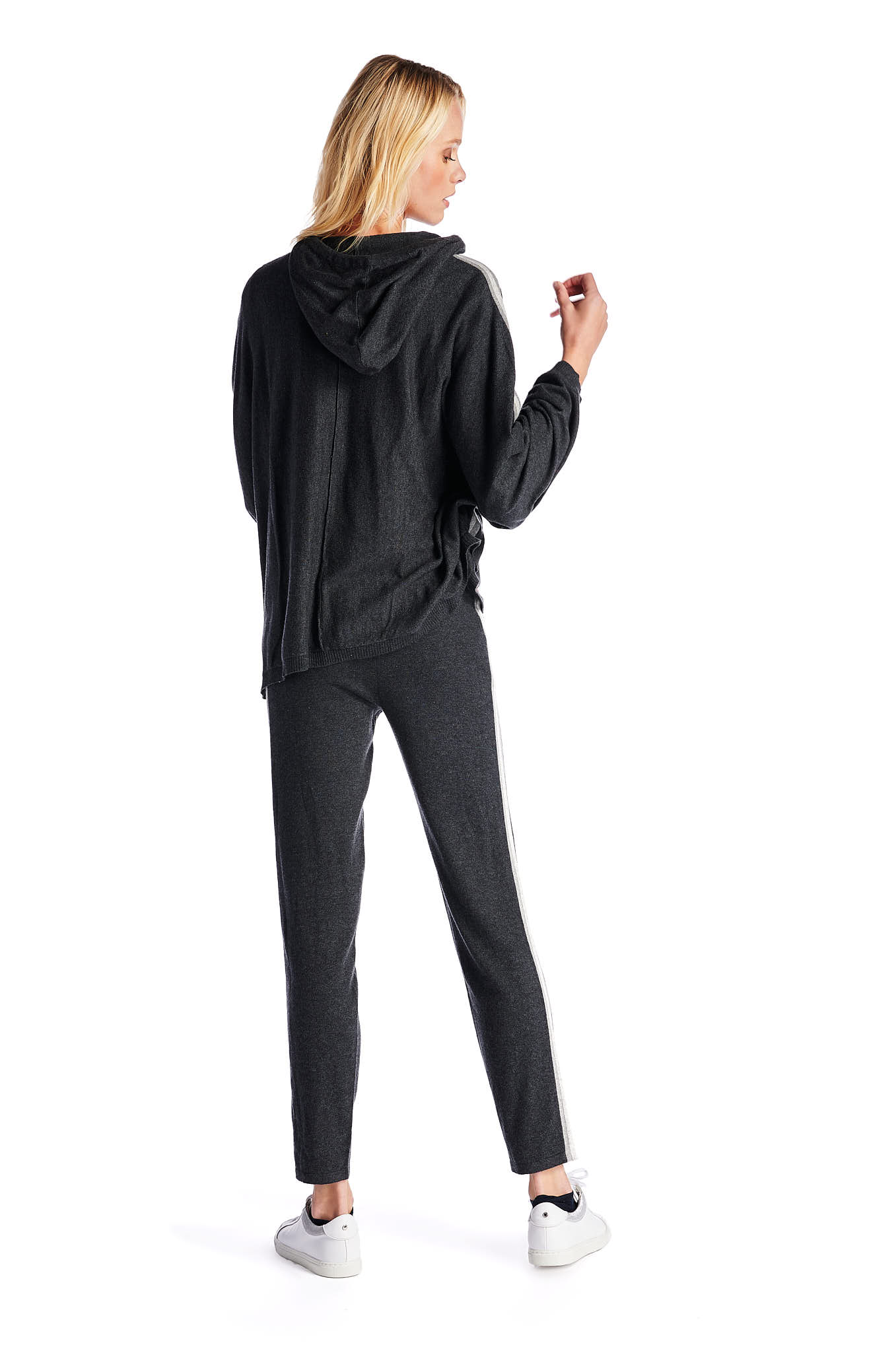 Sportswear Trousers Dark Grey Casual Woman
