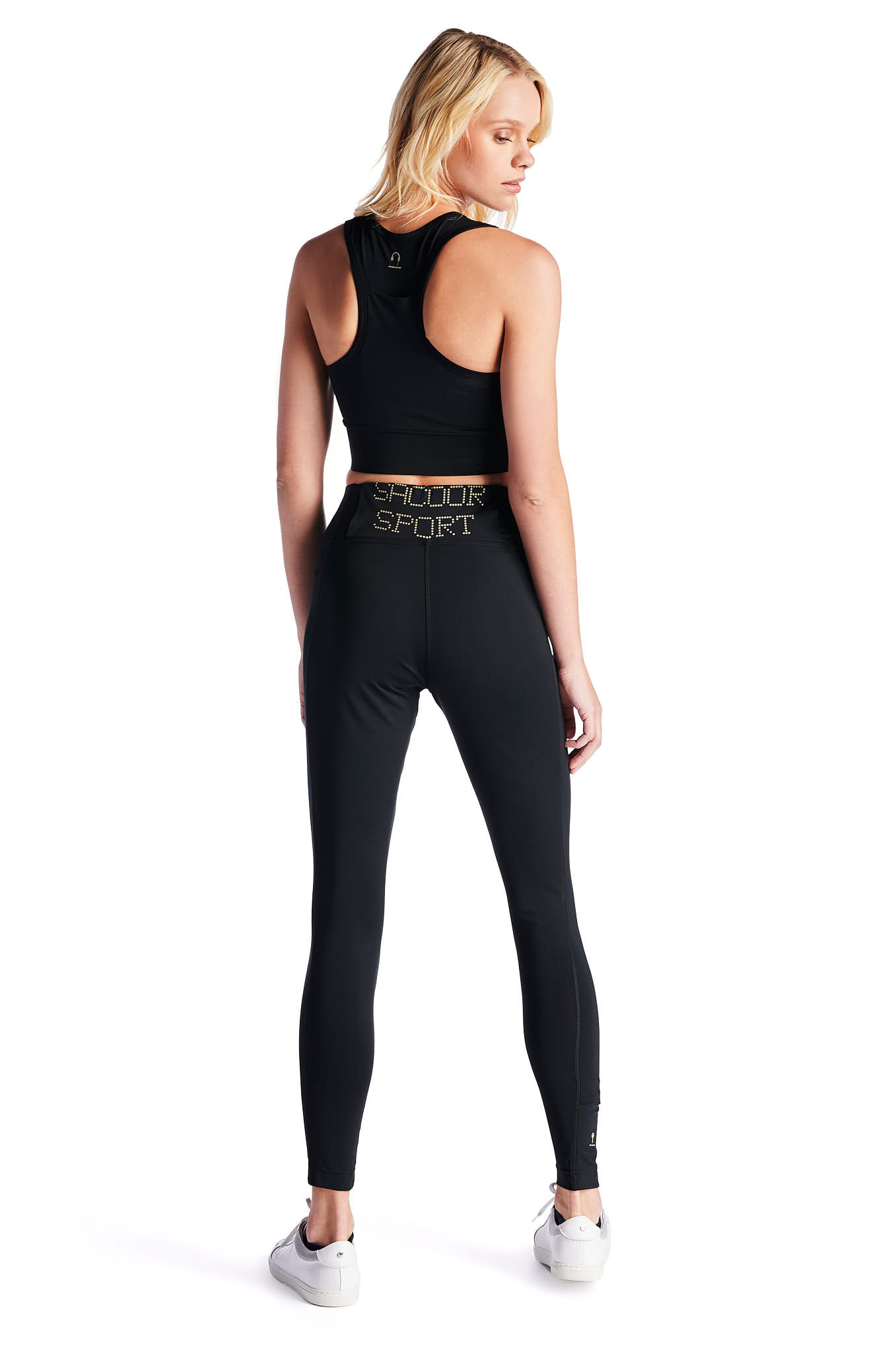 Leggings Black Sport Woman