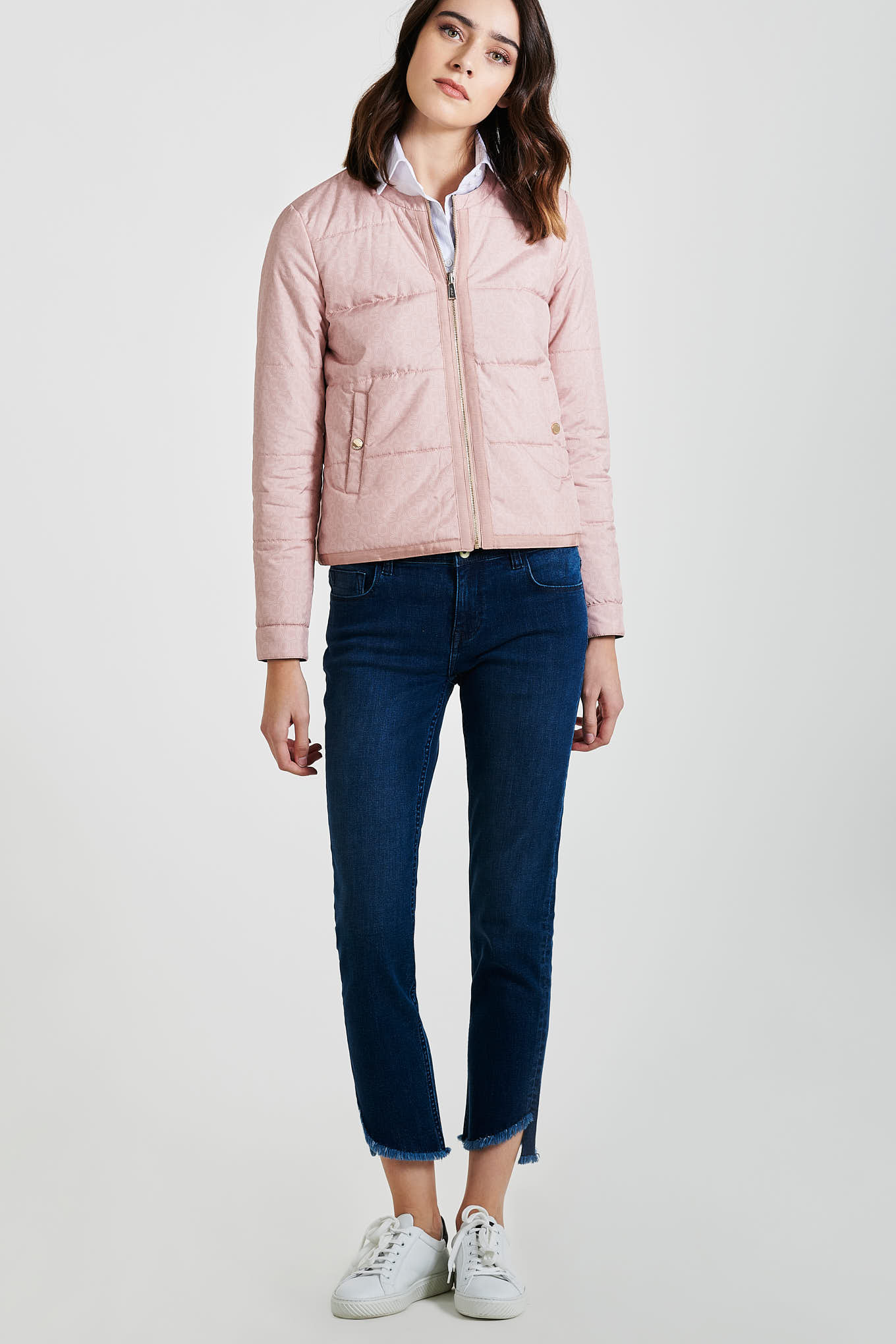 Jacket Light Pink Casual Woman