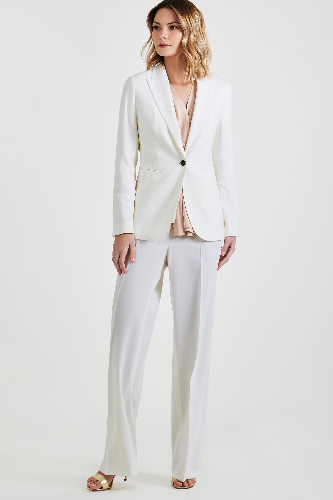 Suit Ecru Classic Woman