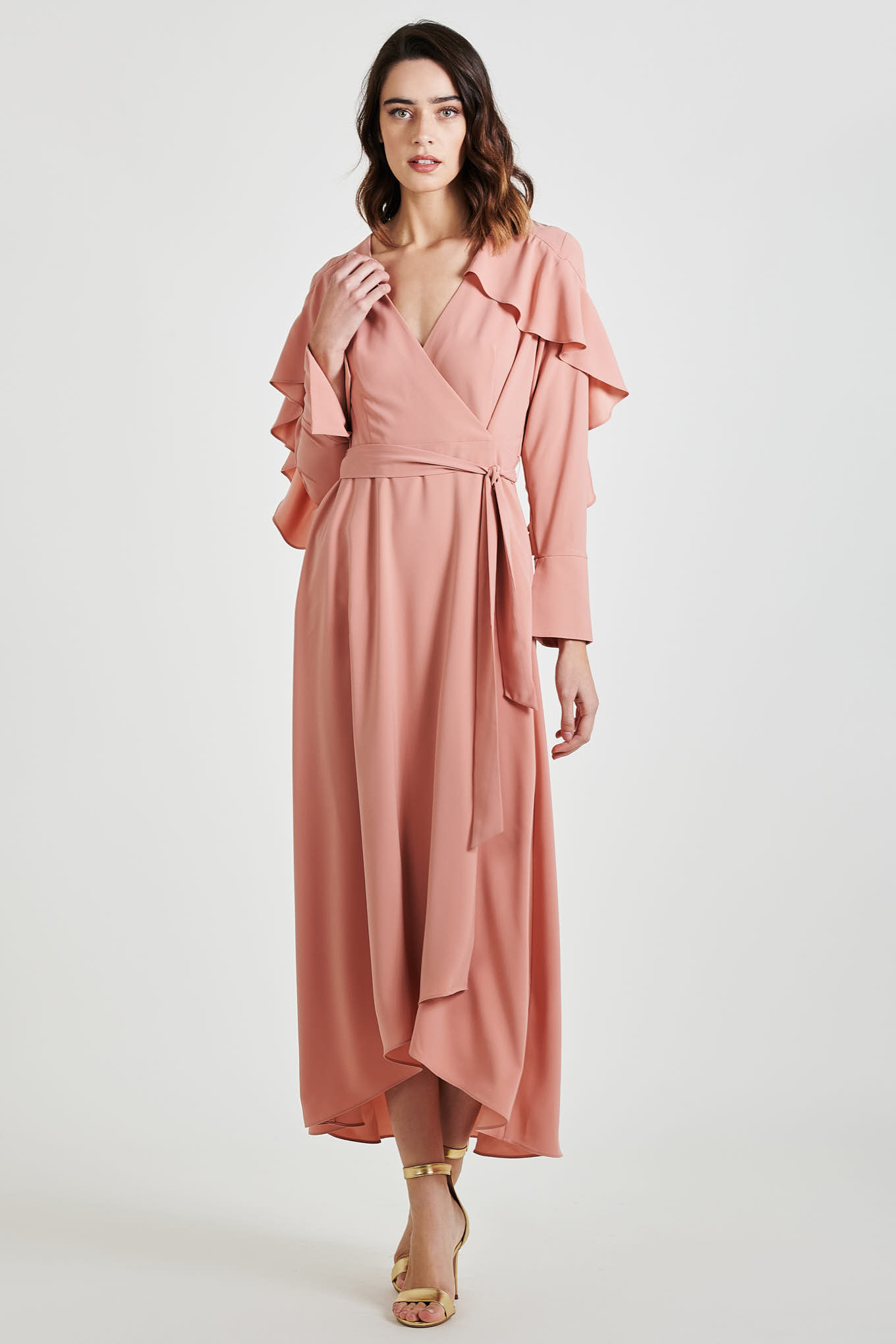 Vestido Rosa Escuro Fantasy Mulher