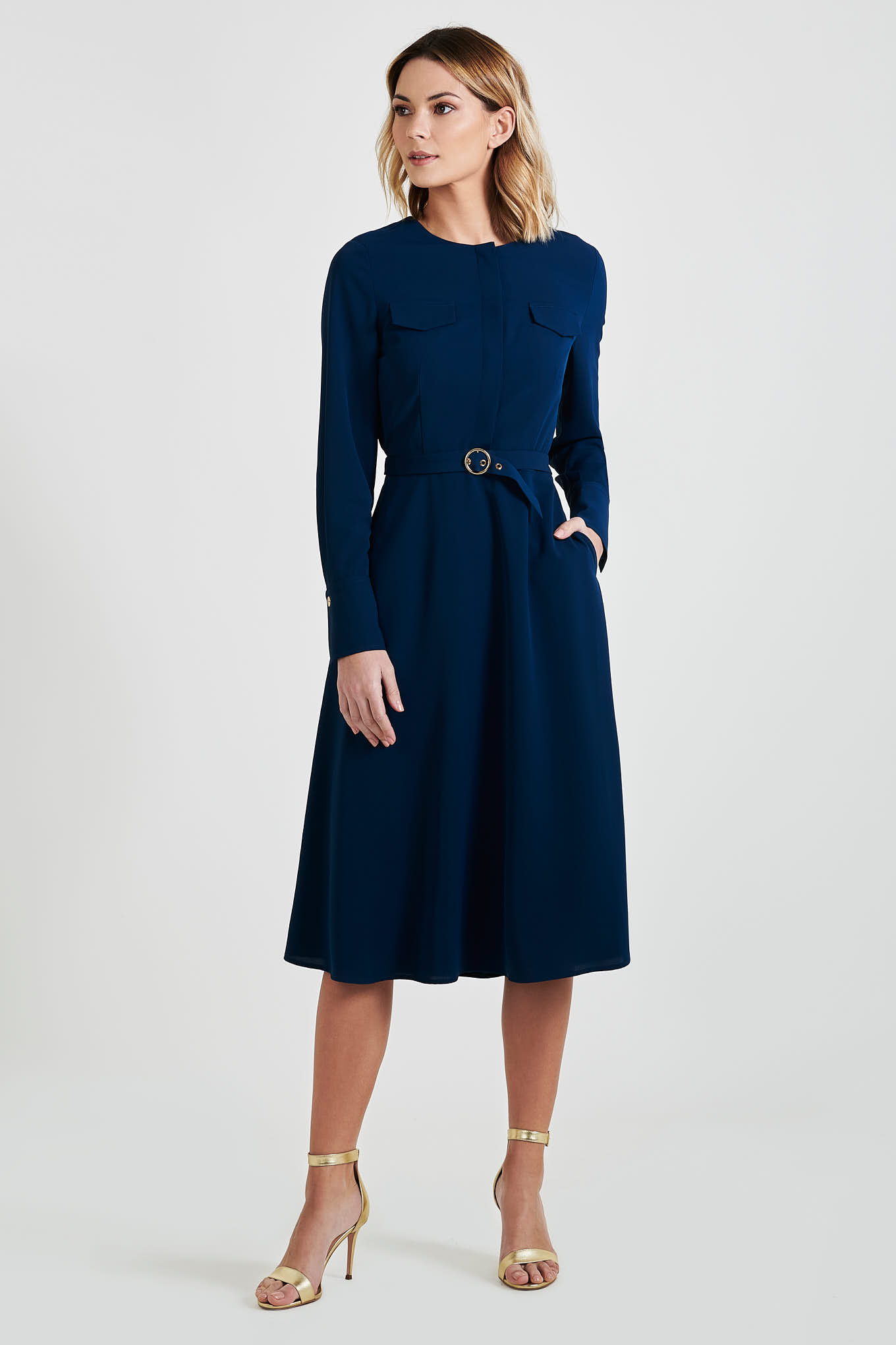 Dress Dark Blue Fantasy Woman