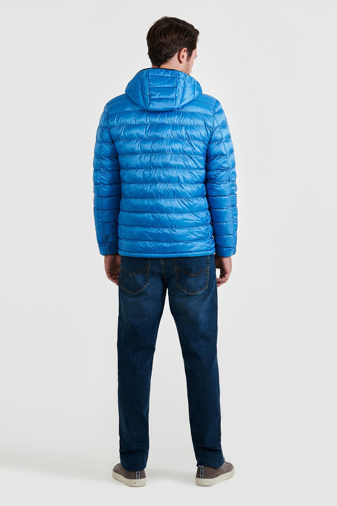 Jacket Medium Blue Casual Man
