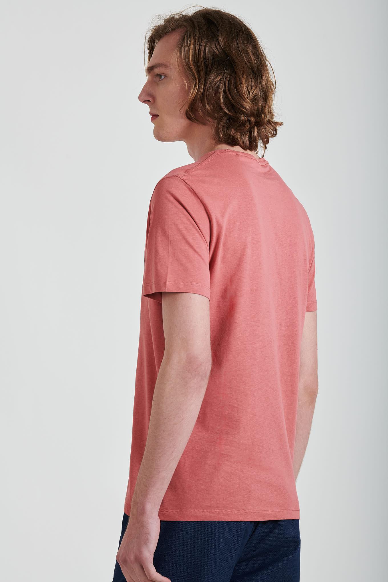 T-Shirt Pink Sport Man