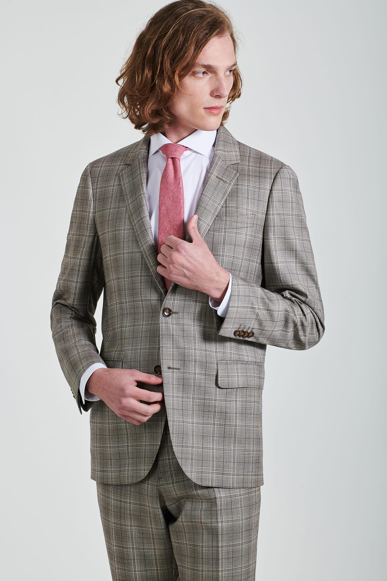 Suit Brown Classic Man