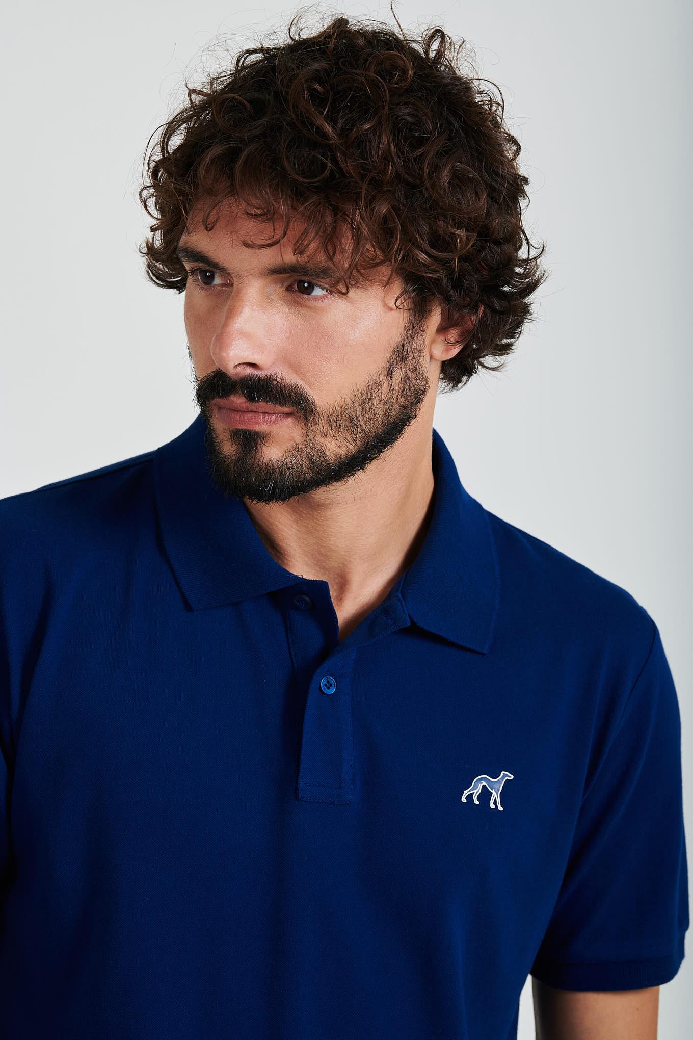 Polo Piquet Royal Blue Sport Man