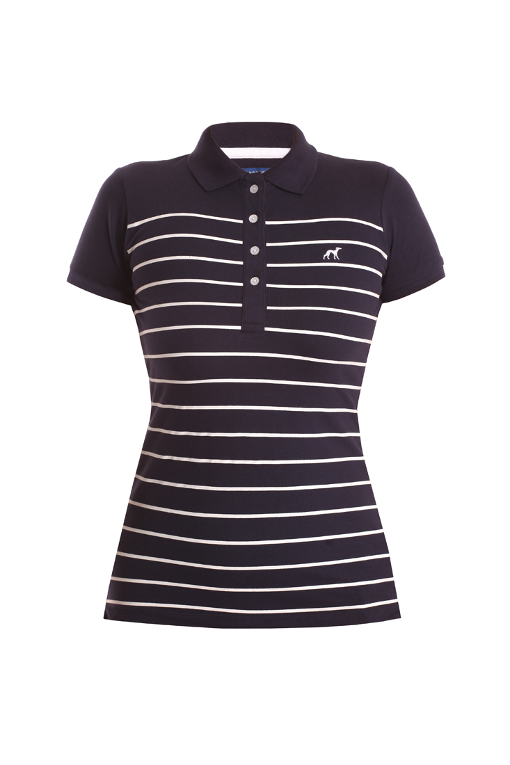 Polo Piquet Dark Blue Sport Woman