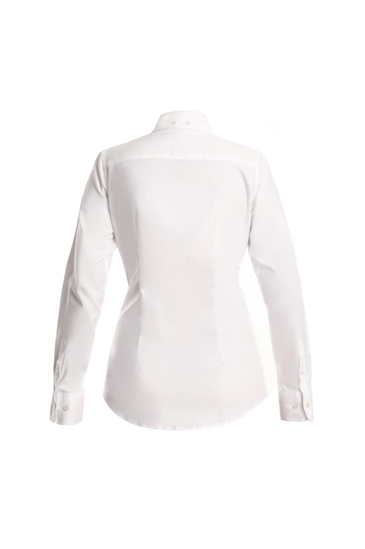 Shirt White Classic Woman
