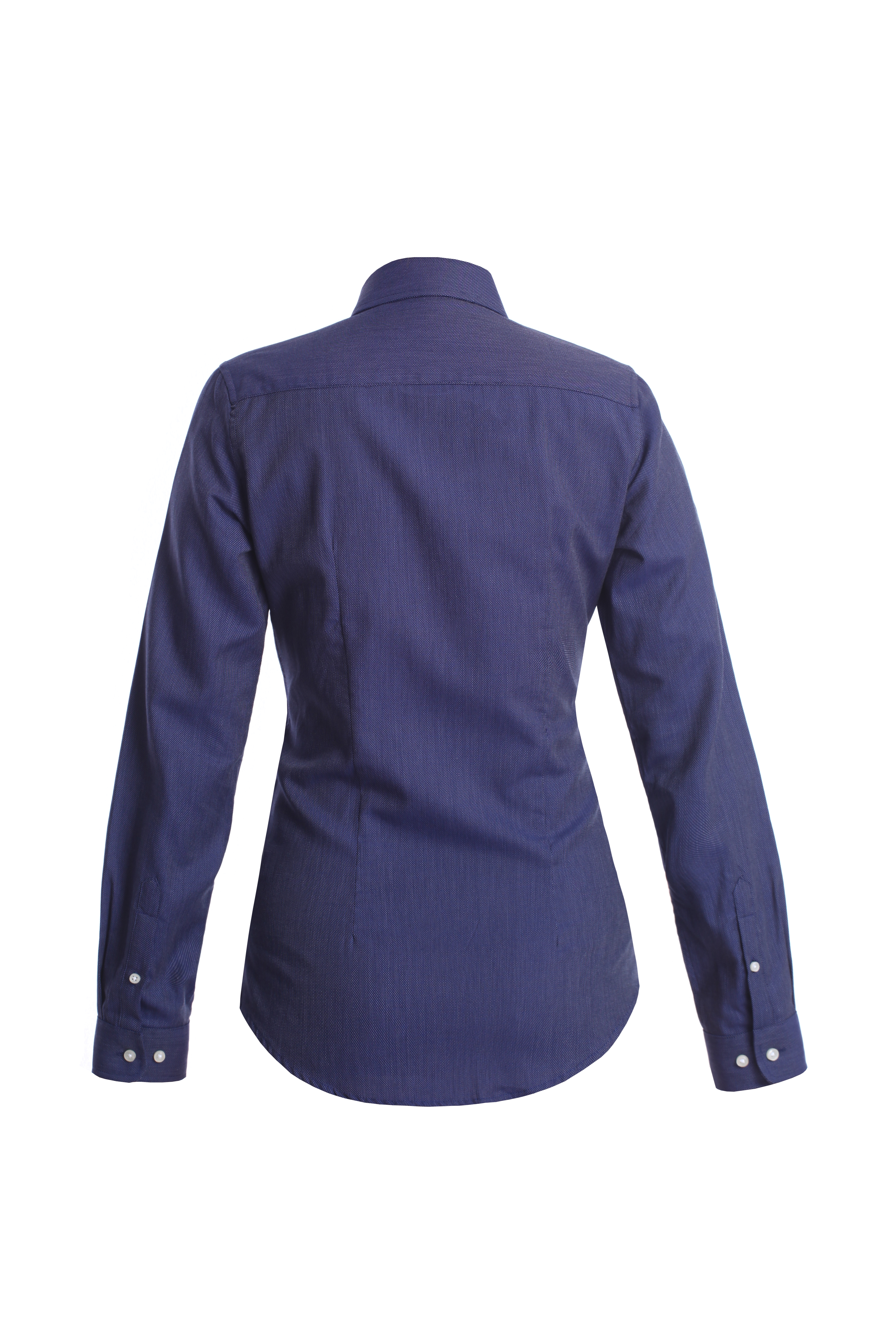 Shirt Dark Blue Classic Woman